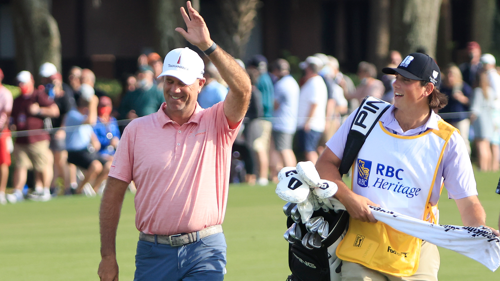 Cink maintains five-shot lead as he breaks another RBC Heritage record