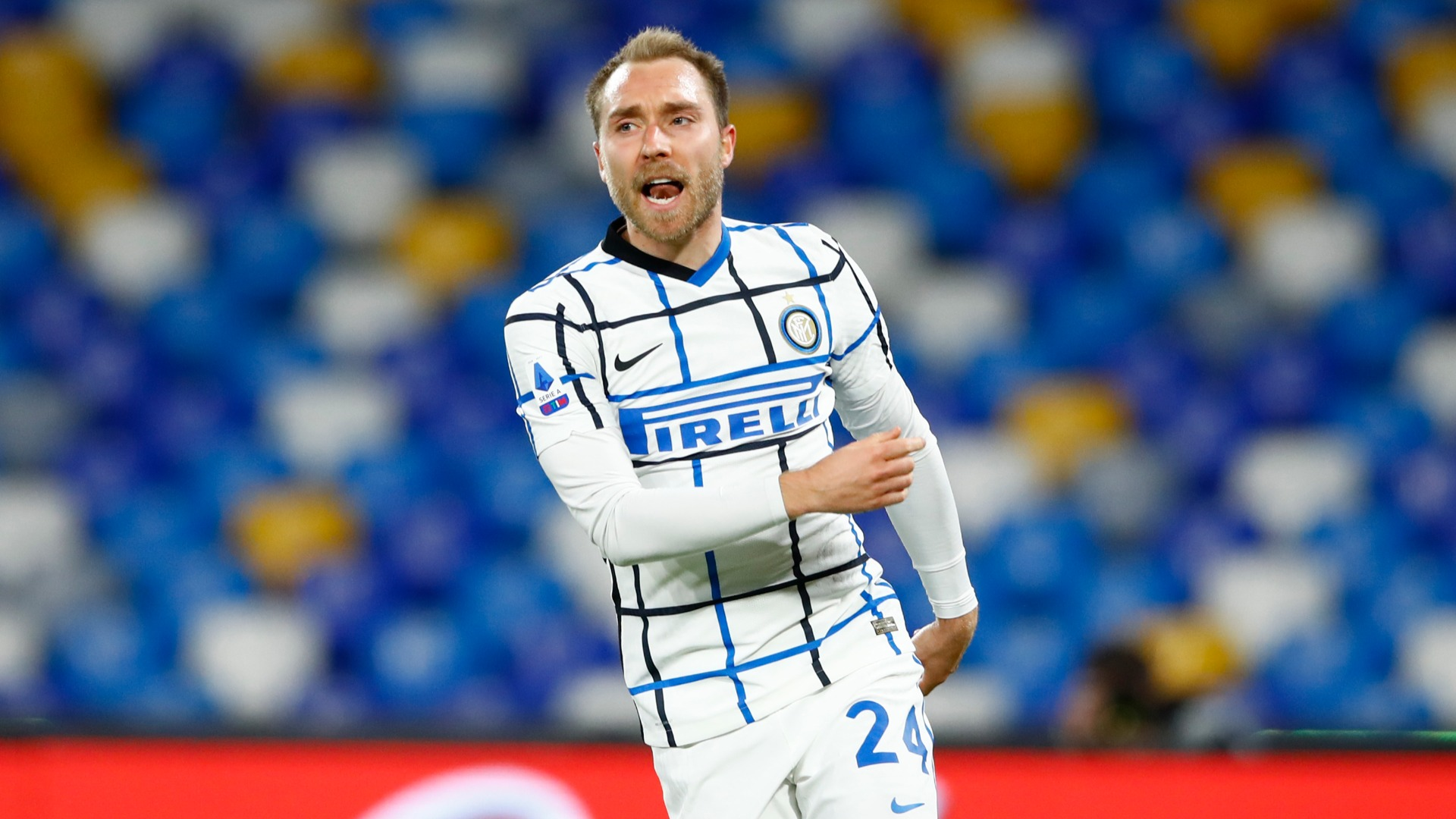 Conte pleased with Eriksen improvement but says Inter midfielder can do 'much, much better'