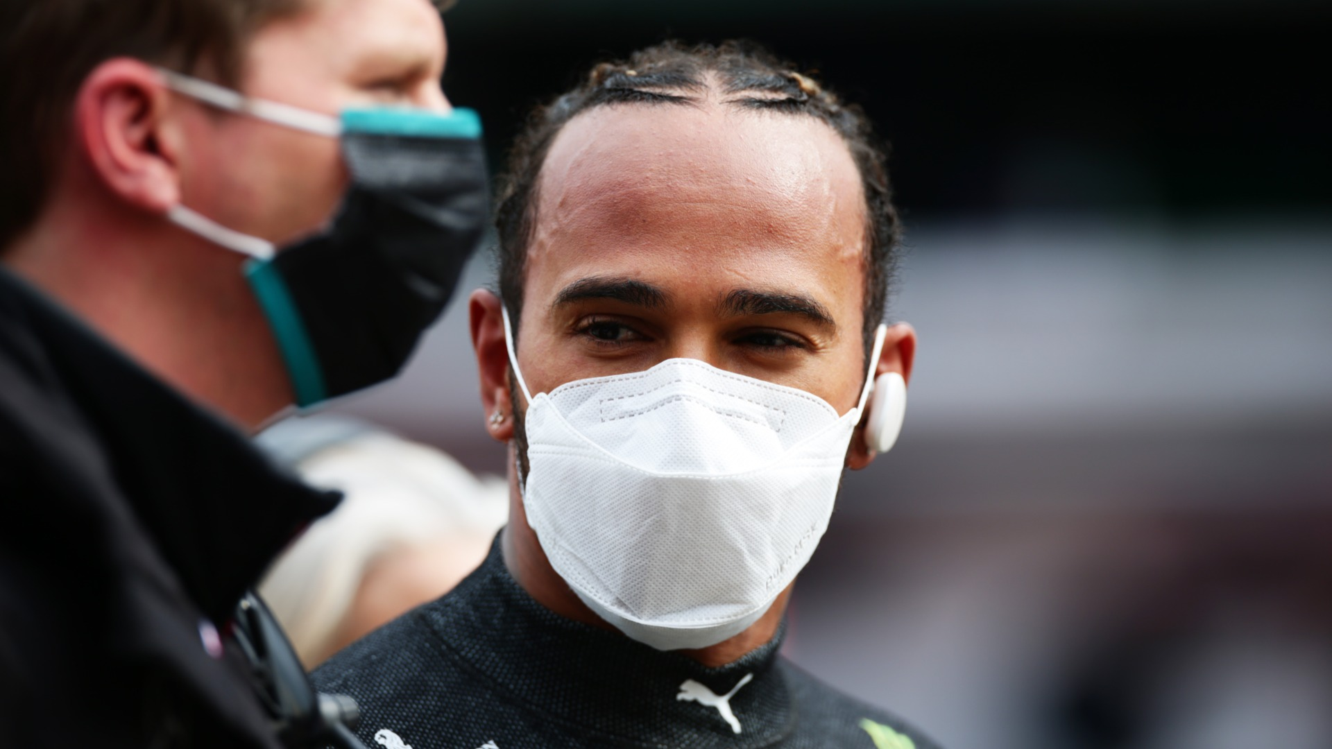 Hamilton relieved to recover from 'first mistake in a long time' with Imola P2