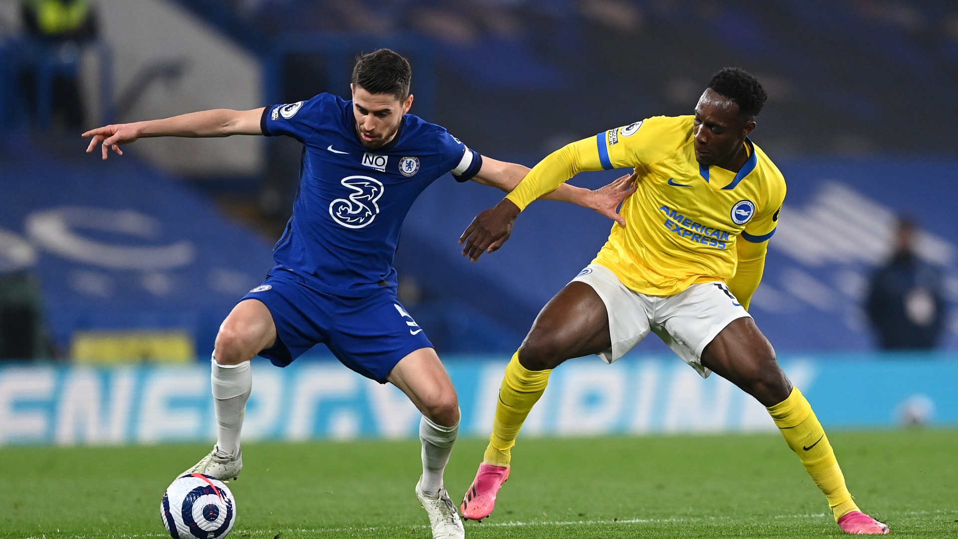 Chelsea 0-0 Brighton and Hove Albion: Struggling visitors make their point against backdrop of crumbling Super League