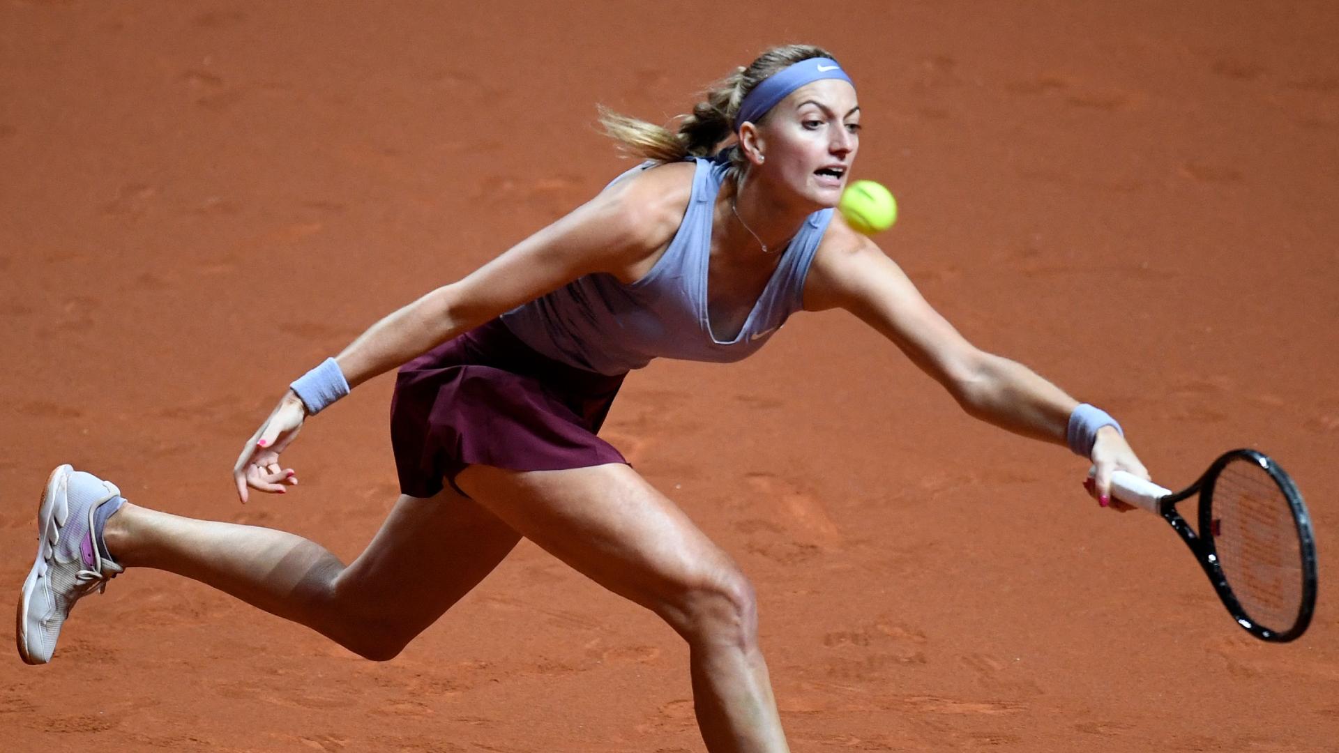 Kvitova fends off Brady to launch Stuttgart bid