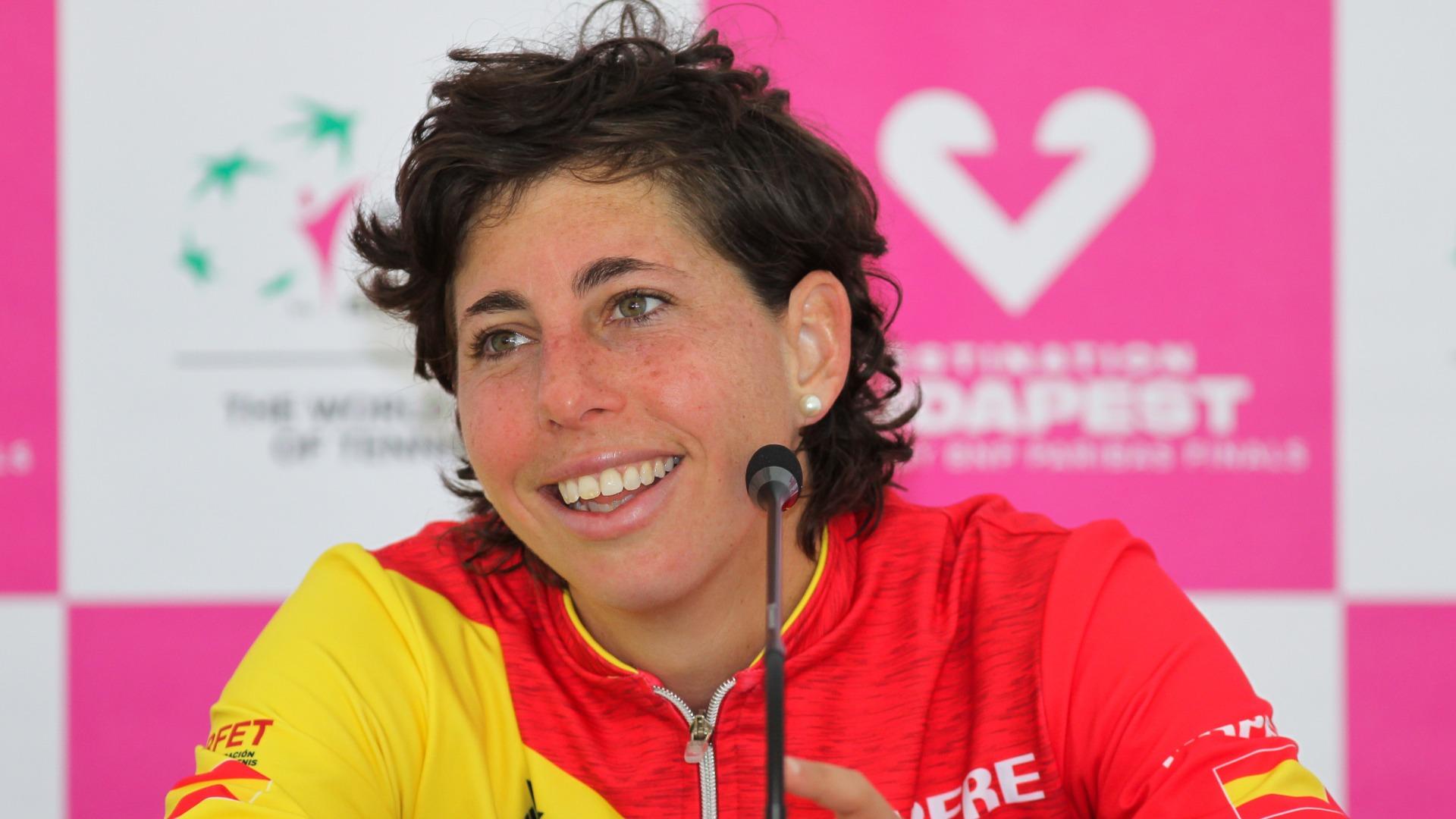 Suarez Navarro overcomes Hodgkin lymphoma, ready for WTA comeback