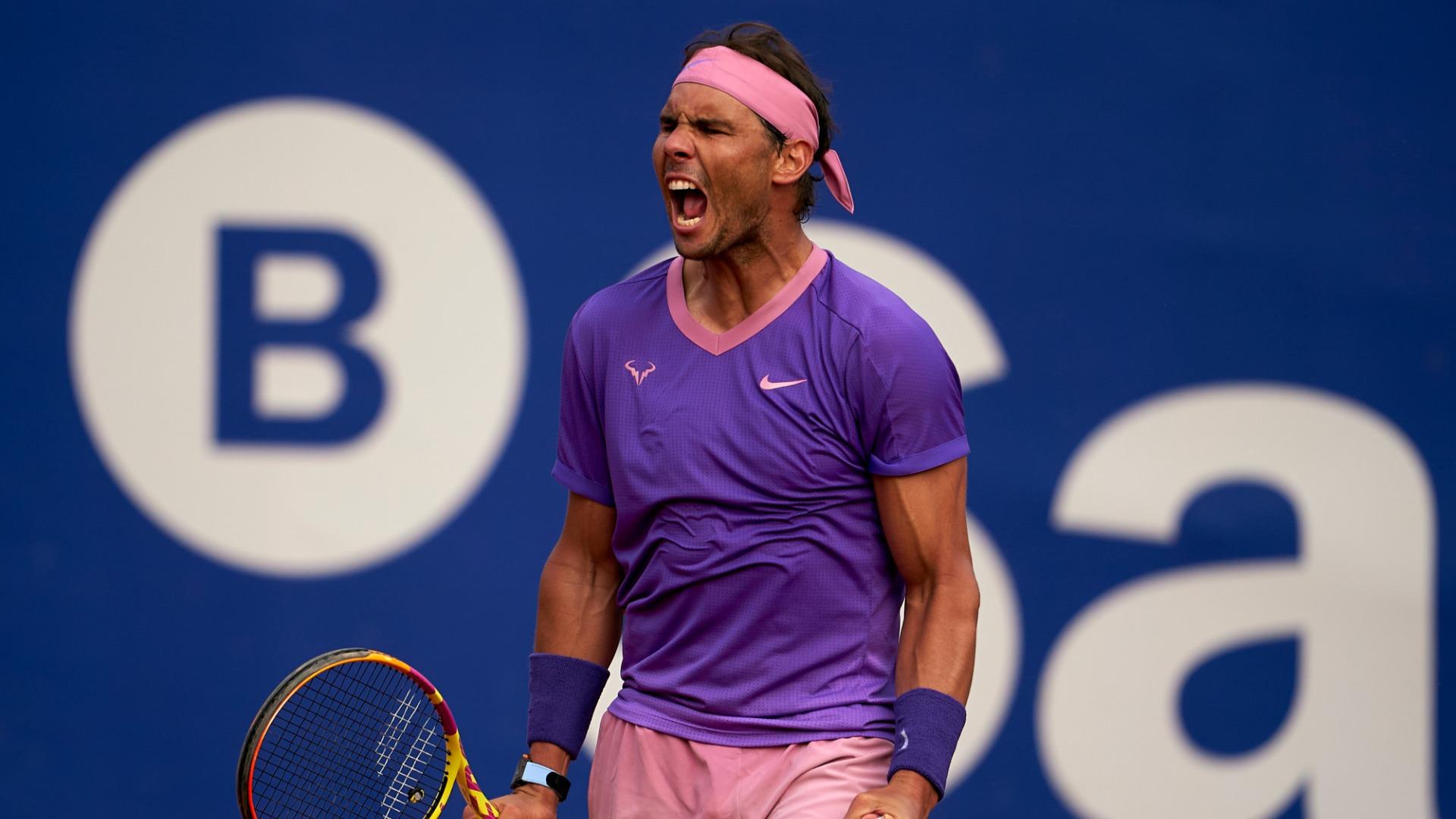 Nadal and Tsitsipas reach Barcelona Open quarter-finals