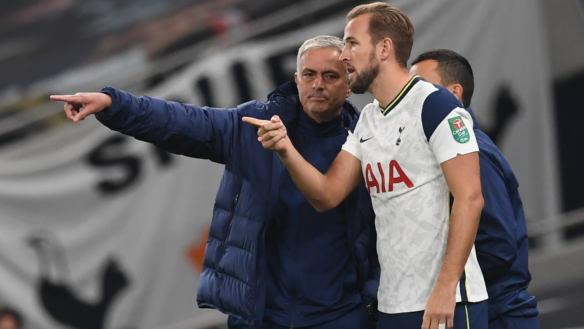 I found out five minutes before! - Kane shocked by Mourinho sacking ahead of EFL Cup final