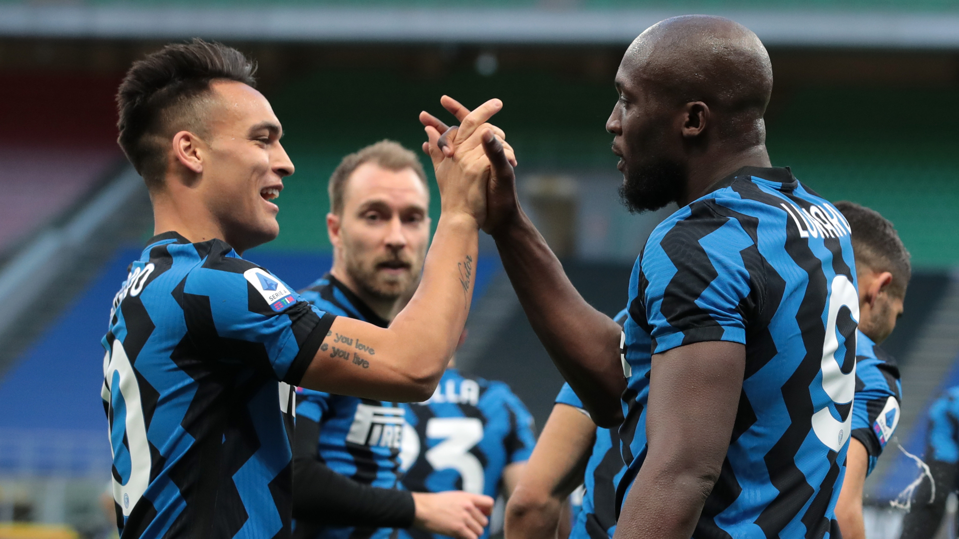 Inter 2-1 Sassuolo: Lukaku on target again as Conte's men go 11 points clear