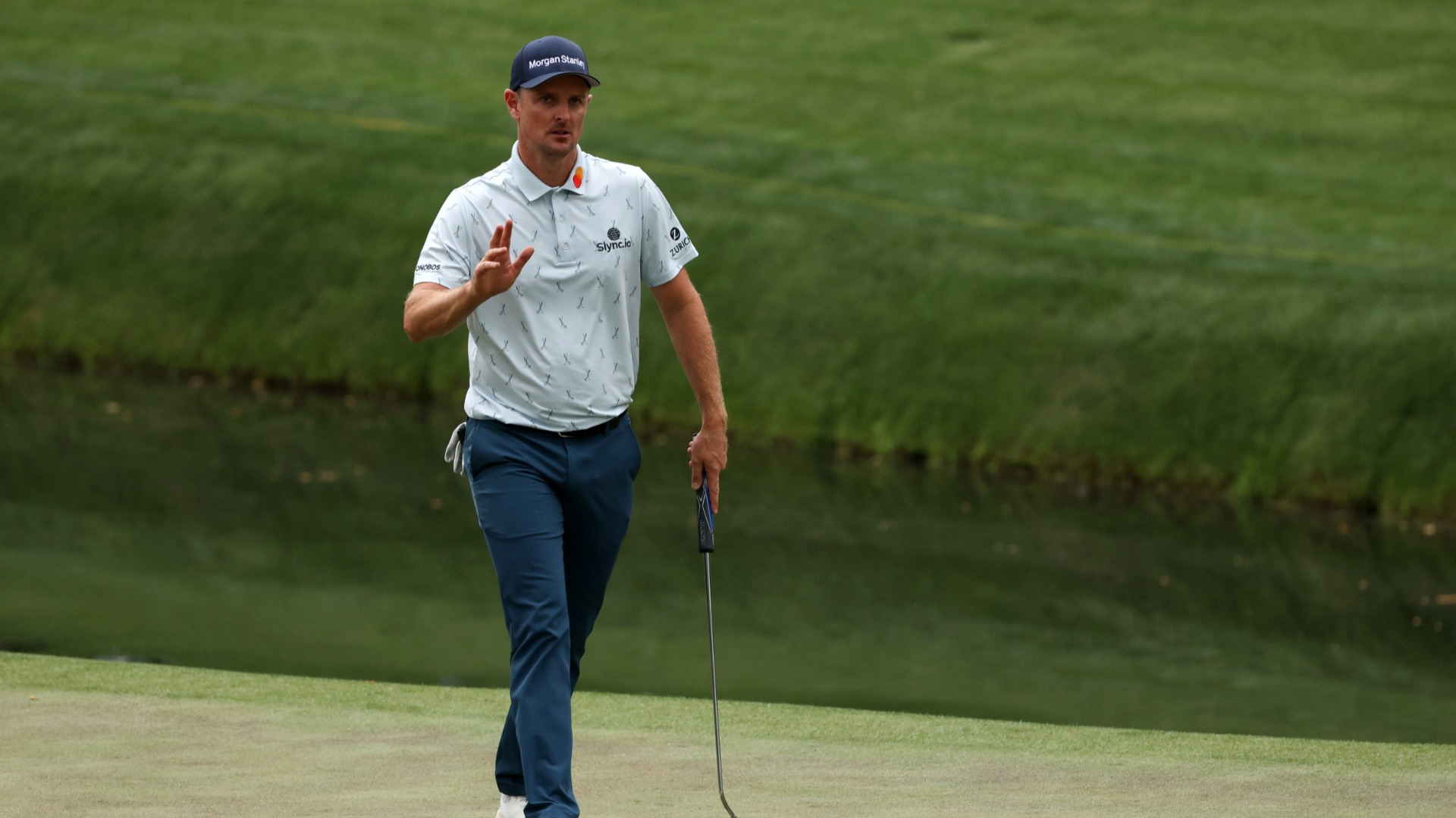 The Masters: Magnificent Rose storms into four-shot lead