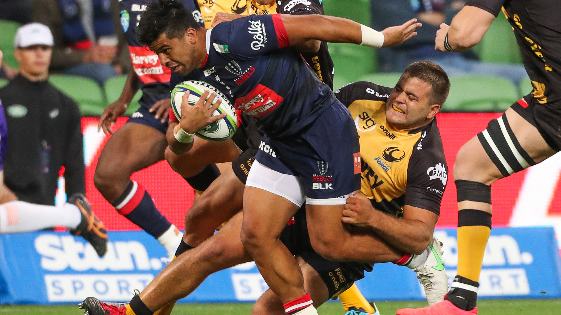 Rebels 15-16 Western Force: Anstee the hero as wasteful hosts are stunned