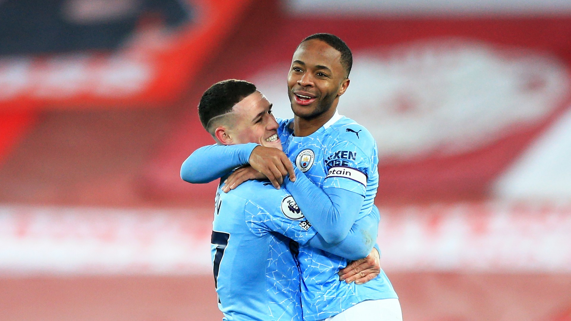 Phil important, Raheem fundamental - Guardiola wants to keep Foden's 'feet on the grass'