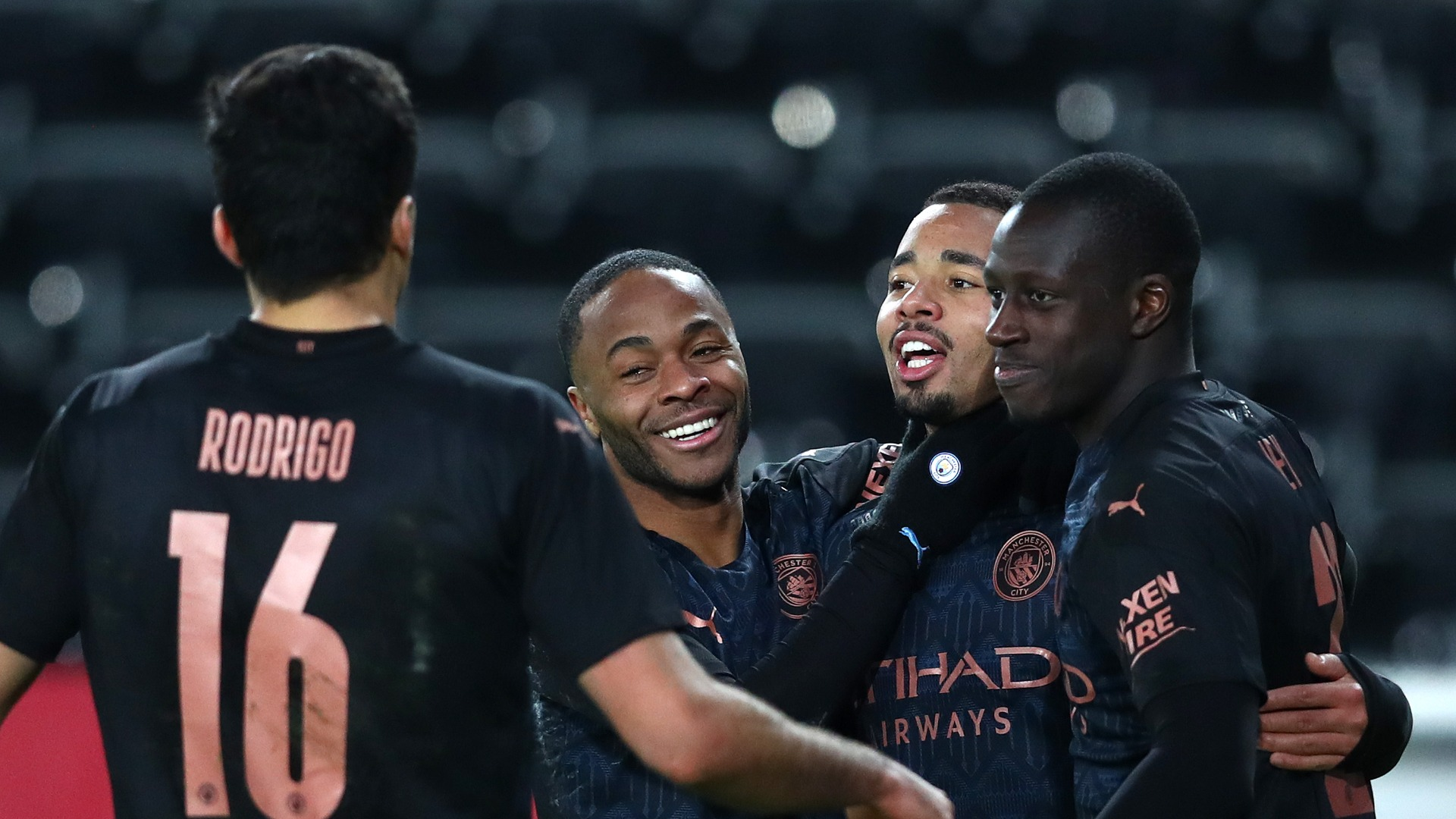 Swansea City 1-3 Manchester City: Record-breaking Premier League leaders reach last eight
