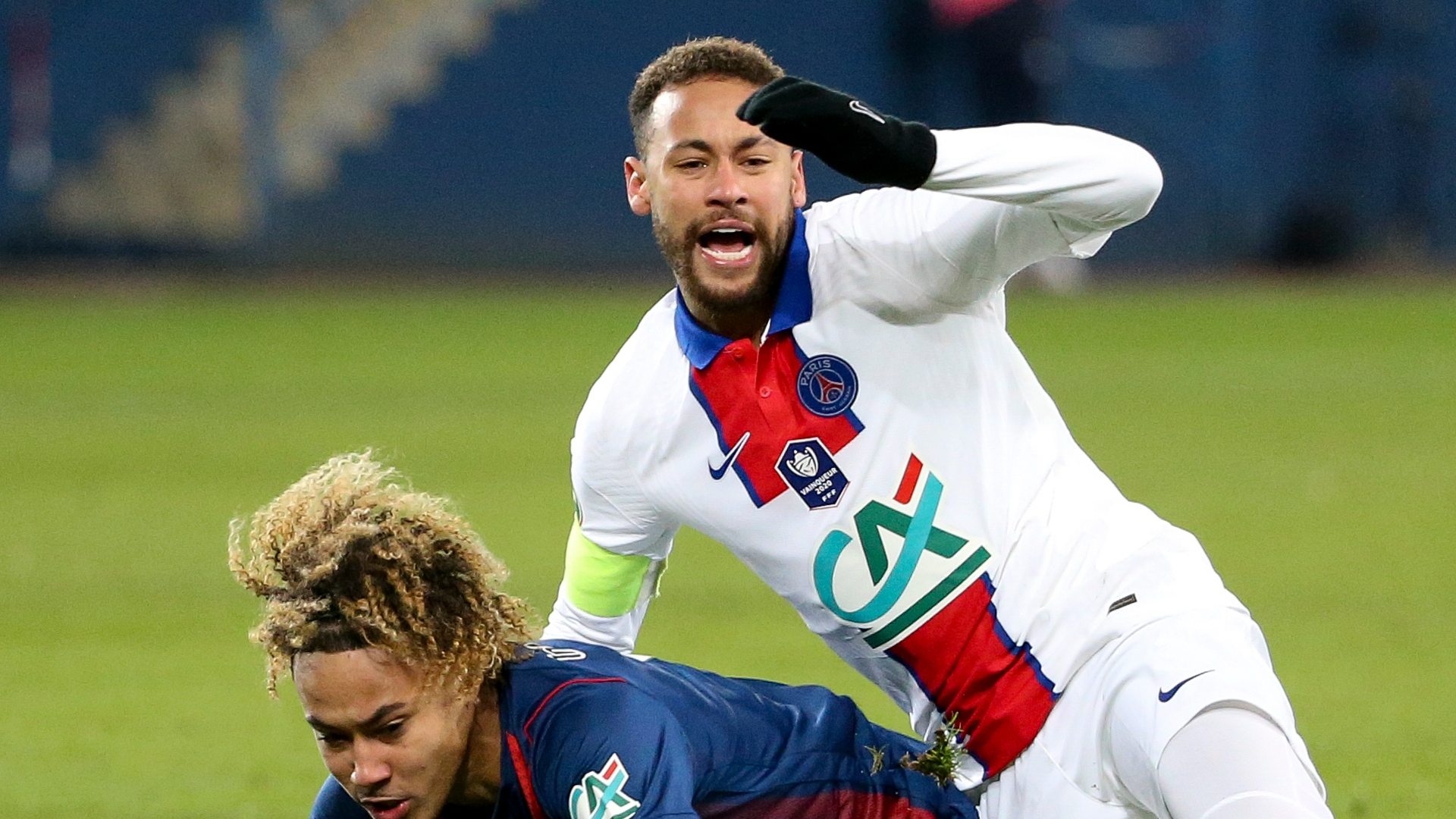 Neymar rejects 'cry baby' tag as PSG star reels after latest injury setback