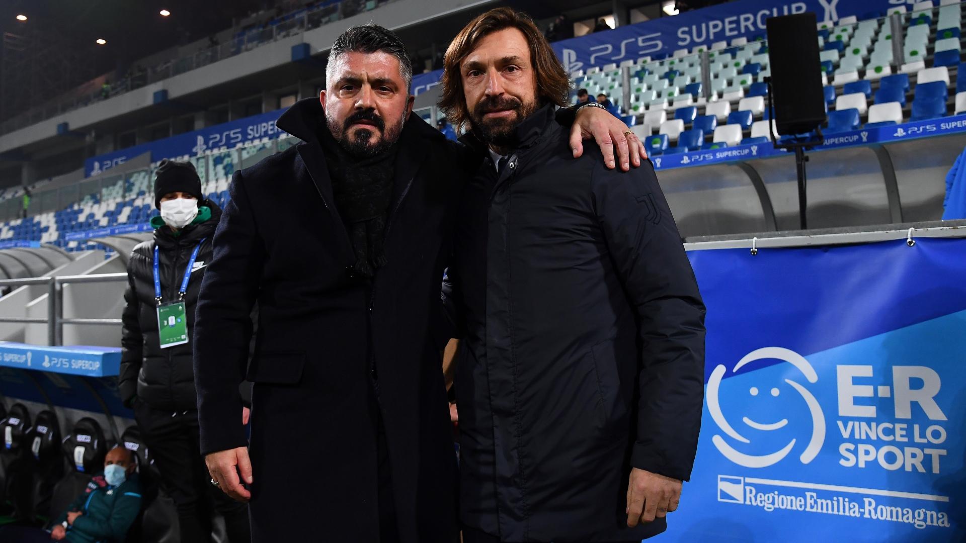 Pirlo feels sorry for Gattuso ahead of Napoli v Juventus