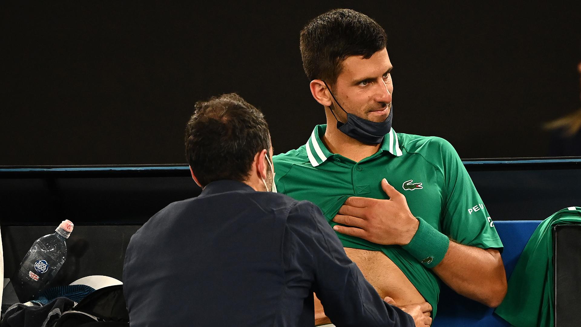 Australian Open: Djokovic cancels practice plan as title defence hangs in the balance