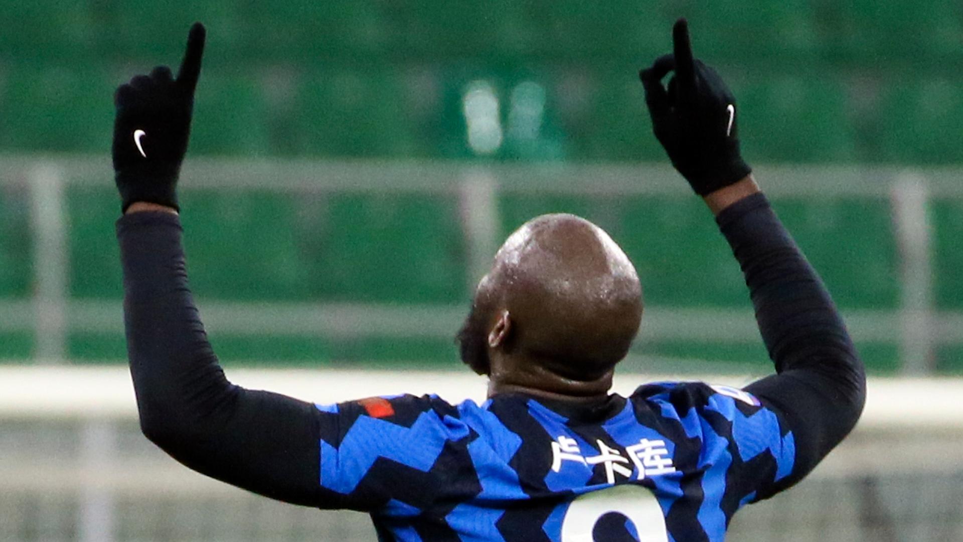 Inter striker Lukaku scores 300th career goal