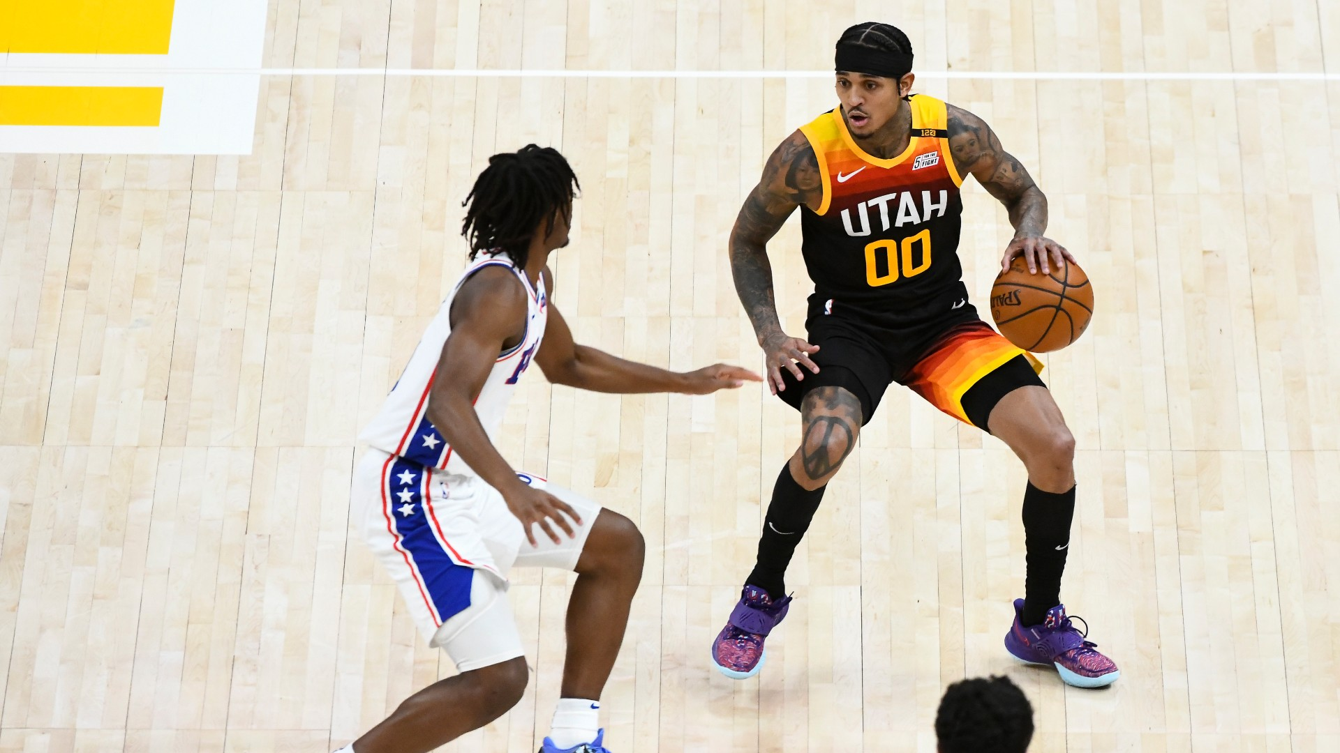 Simmons' career high not enough as Clarkson's Jazz outgun 76ers in NBA shoot-out