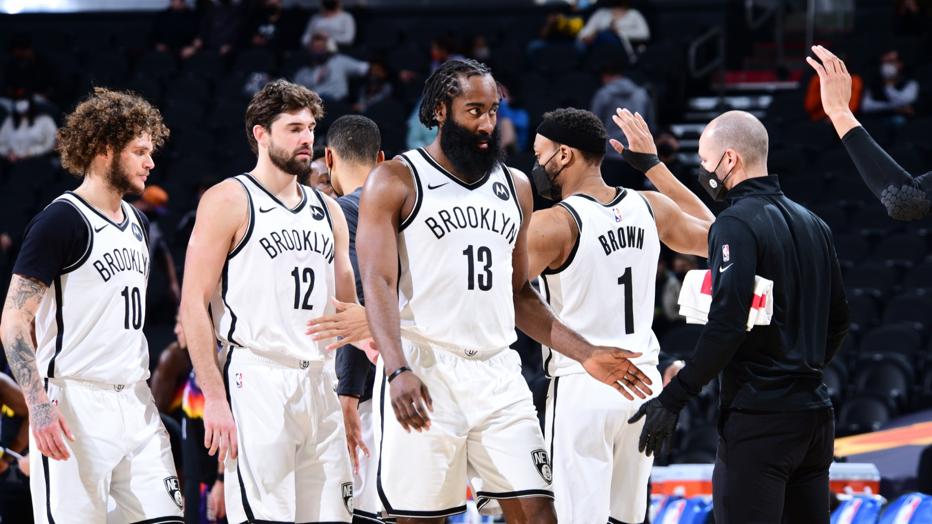 Nets 'rightfully excited' after Harden leads historic fightback