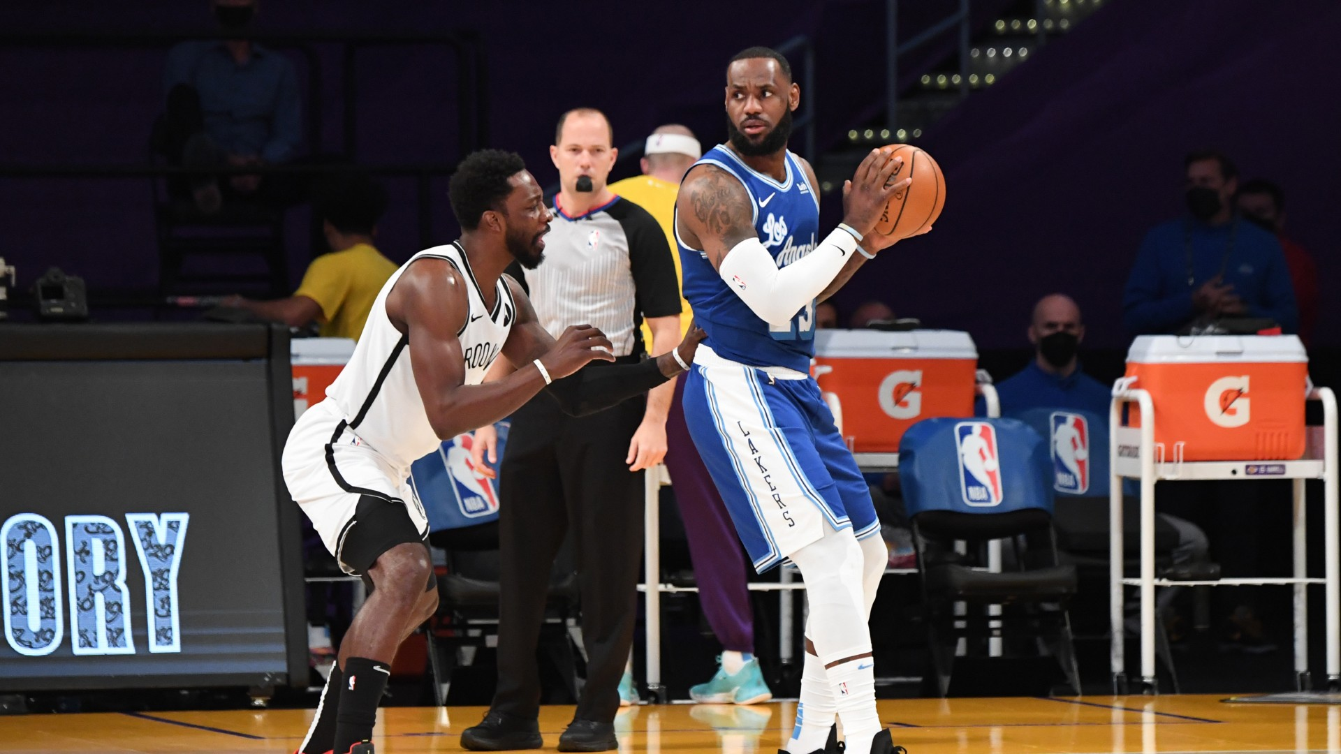 LeBron makes NBA history passing 35,000 points but Harden stars as Nets top Lakers