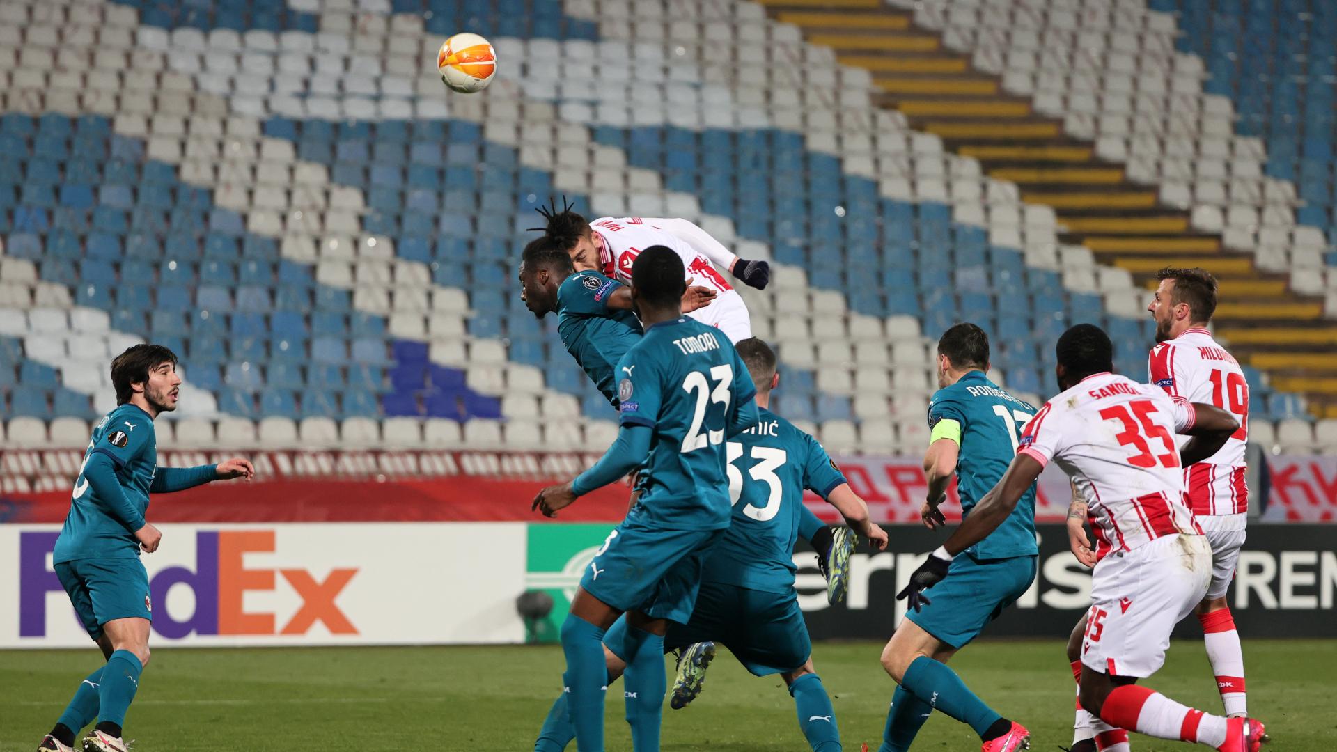 Red Star Belgrade 2-2 Milan: Milan denies Milan! Last-gasp Pavkov rocks Rossoneri
