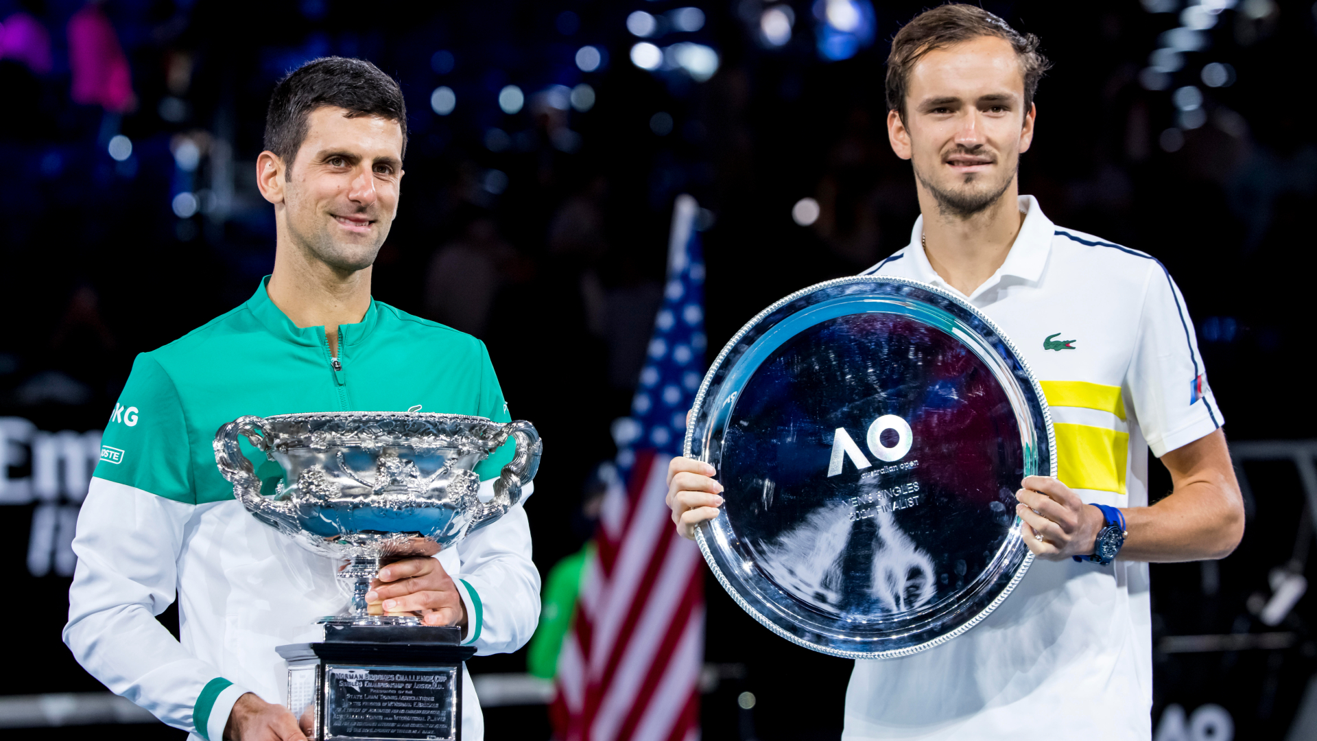 Australian Open: 'Cyborgs of tennis' not done yet as Djokovic continues Melbourne dominance