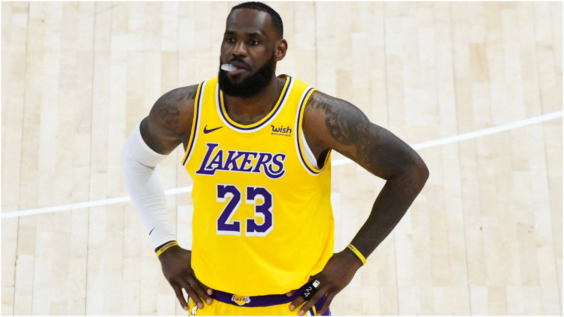 LeBron and Lakers dealing with 'tough stretch' as Jazz set NBA record