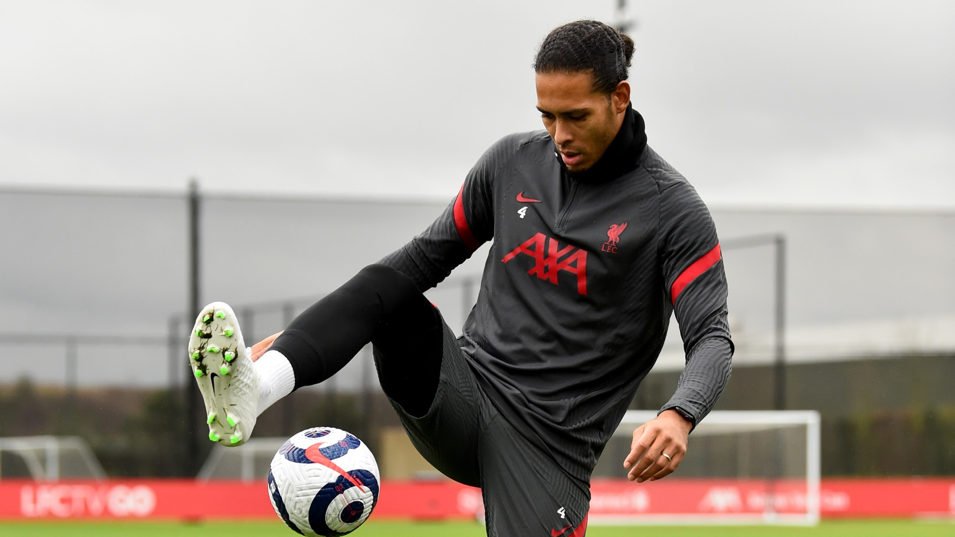Van Dijk and Diogo Jota step up training to boost Liverpool