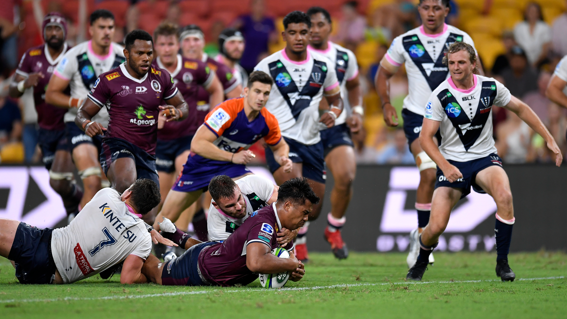 Reds 23-21 Rebels: Mafi and O'Connor combine to clinch thrilling win
