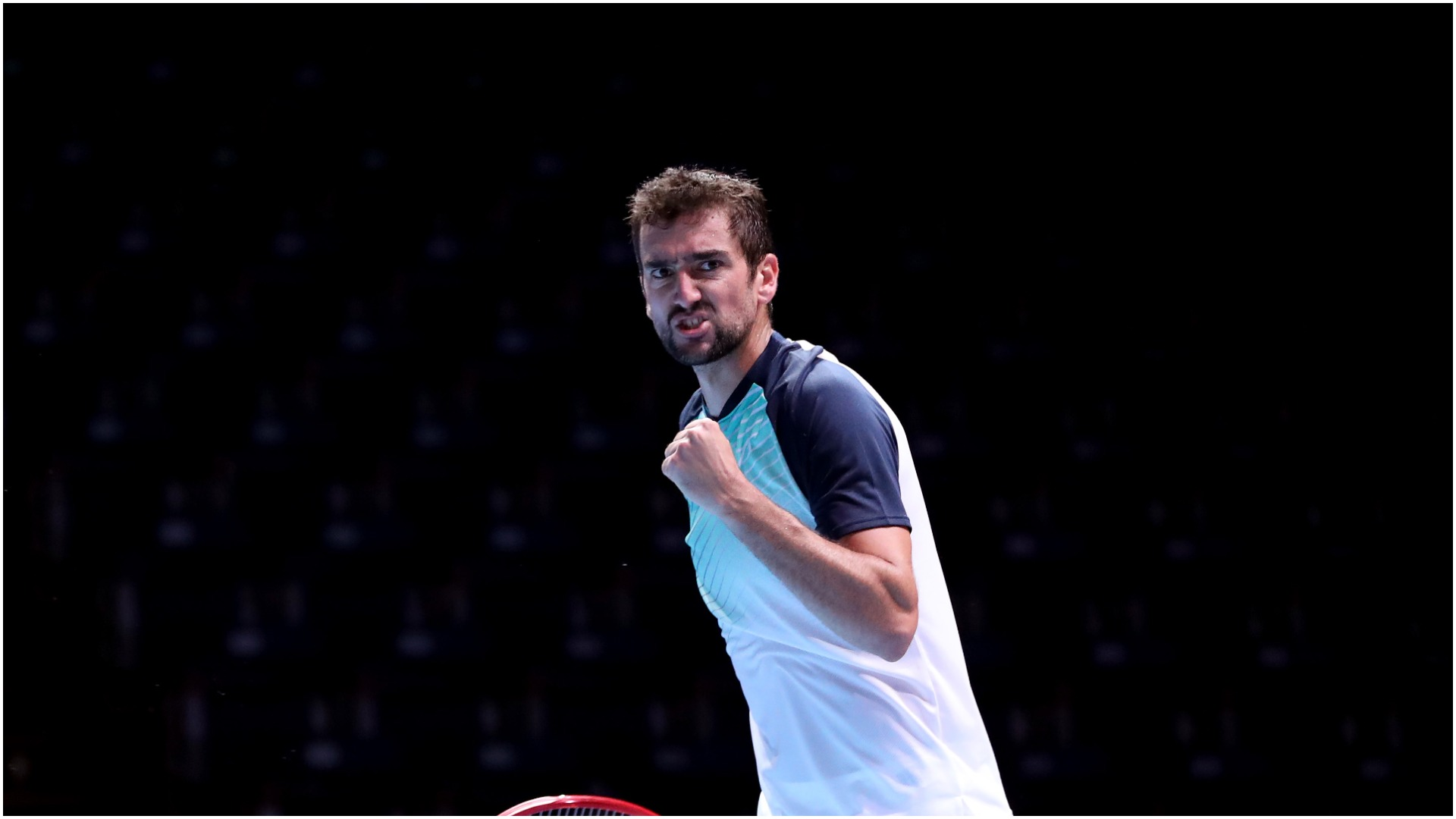 Cilic survives match point in Singapore scare