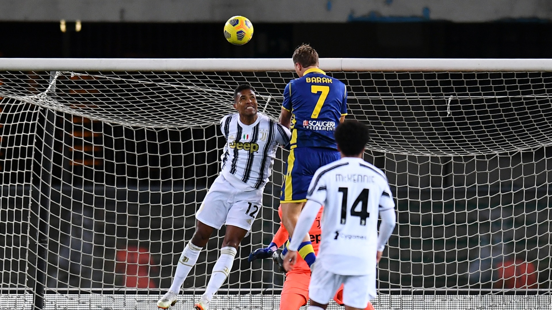 Hellas Verona 1-1 Juventus: Champions frustrated by Barak leveller