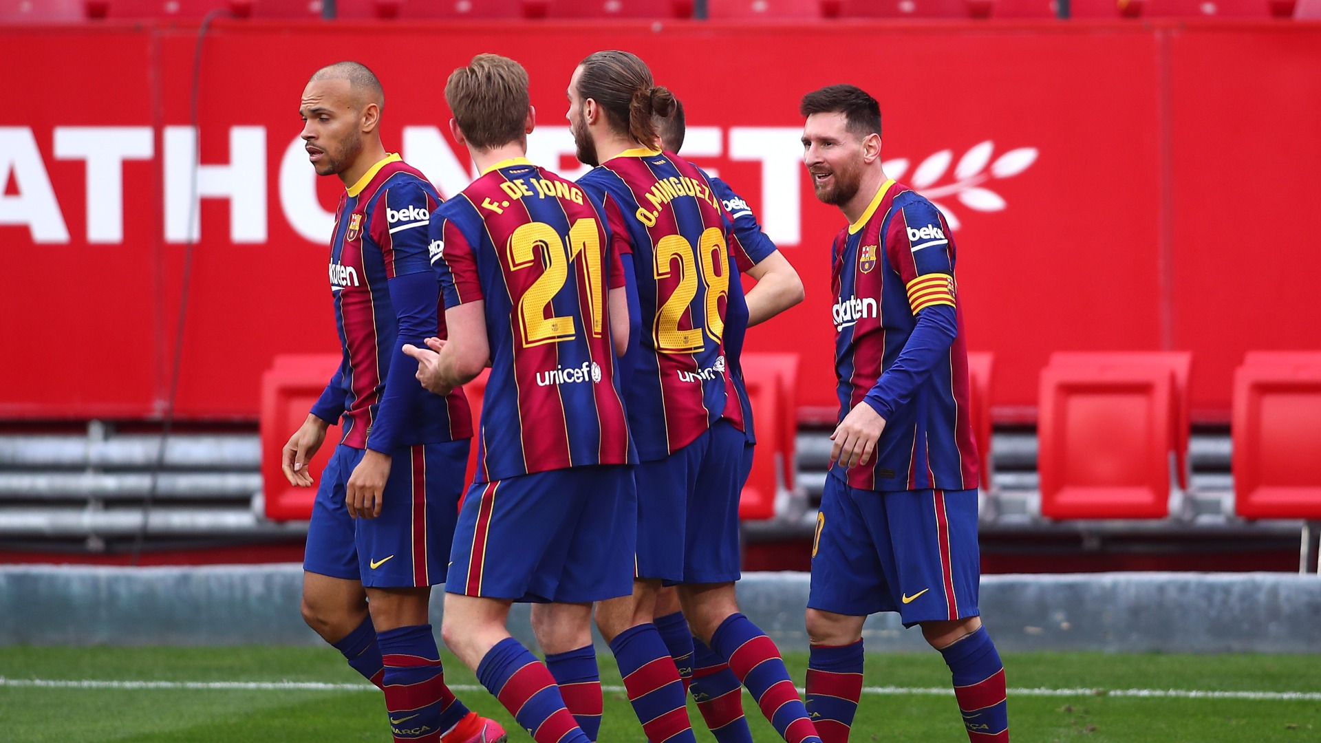 Pique: Barca can change season completely with second straight win against Sevilla