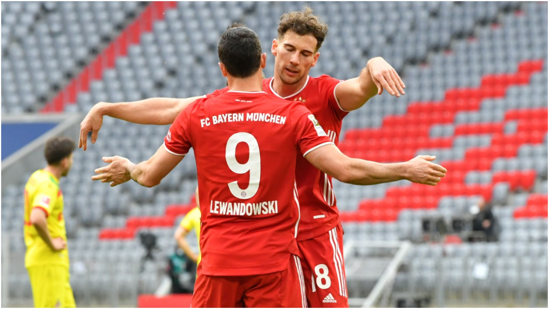Bayern Munich 5-1 Cologne: Lewandowski and Gnabry at the double as Muller returns