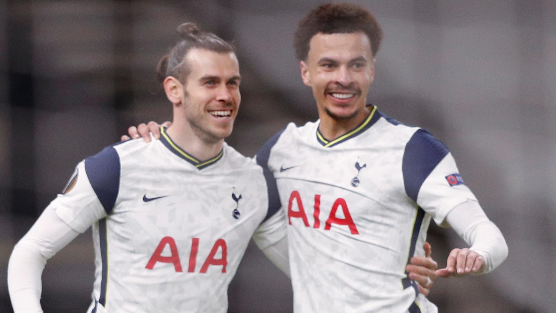 Bale starts for Tottenham against Burnley, Alli on the bench