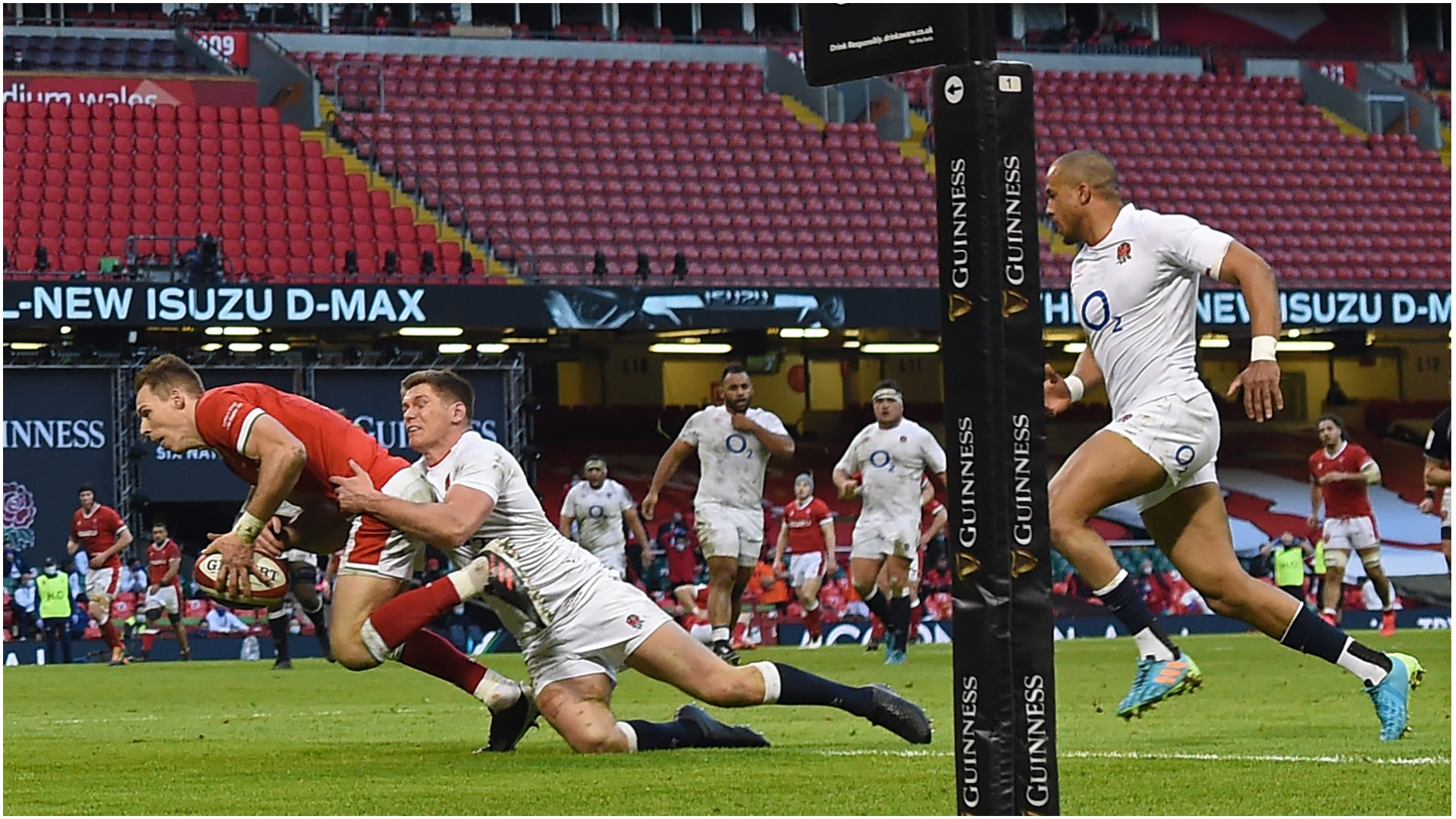 Six Nations 2021: Wales 40-24 England