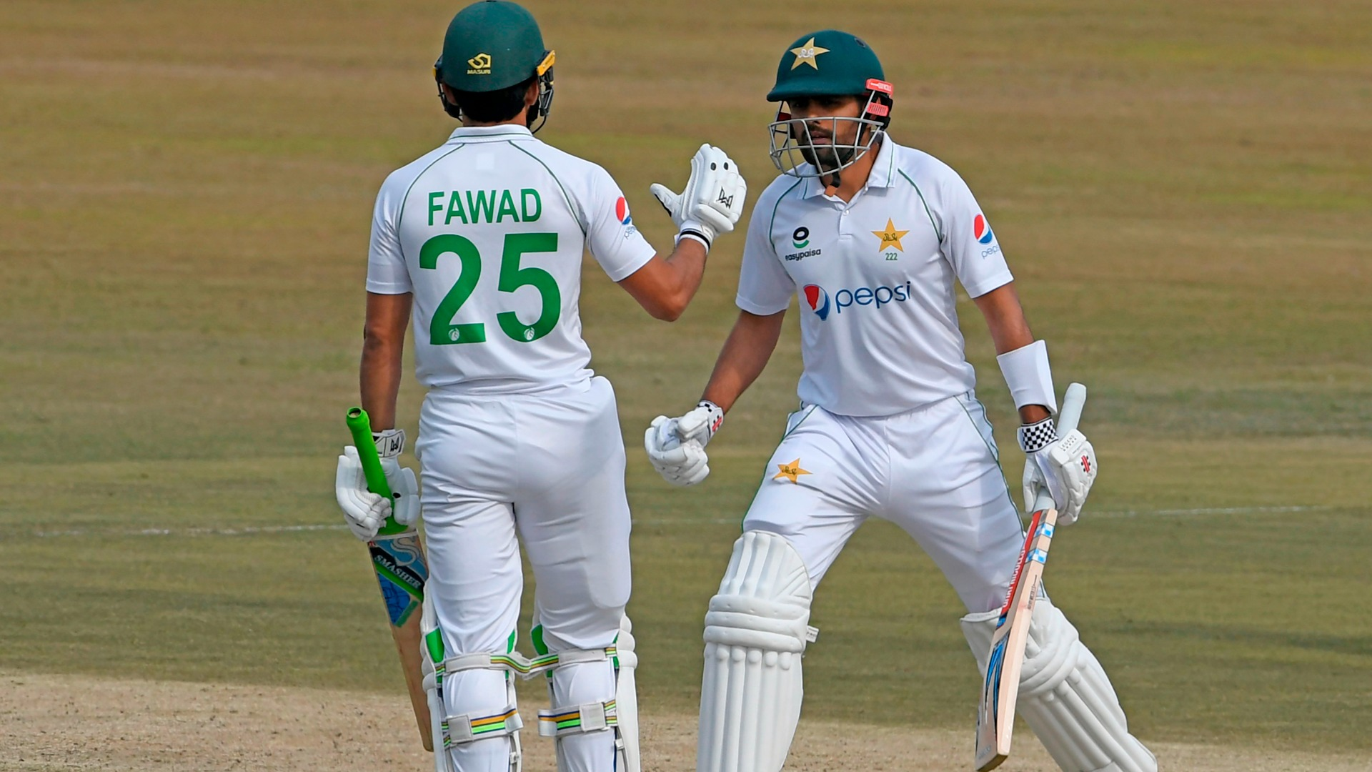 Babar and Fawad get Pakistan back on track after fast Proteas start