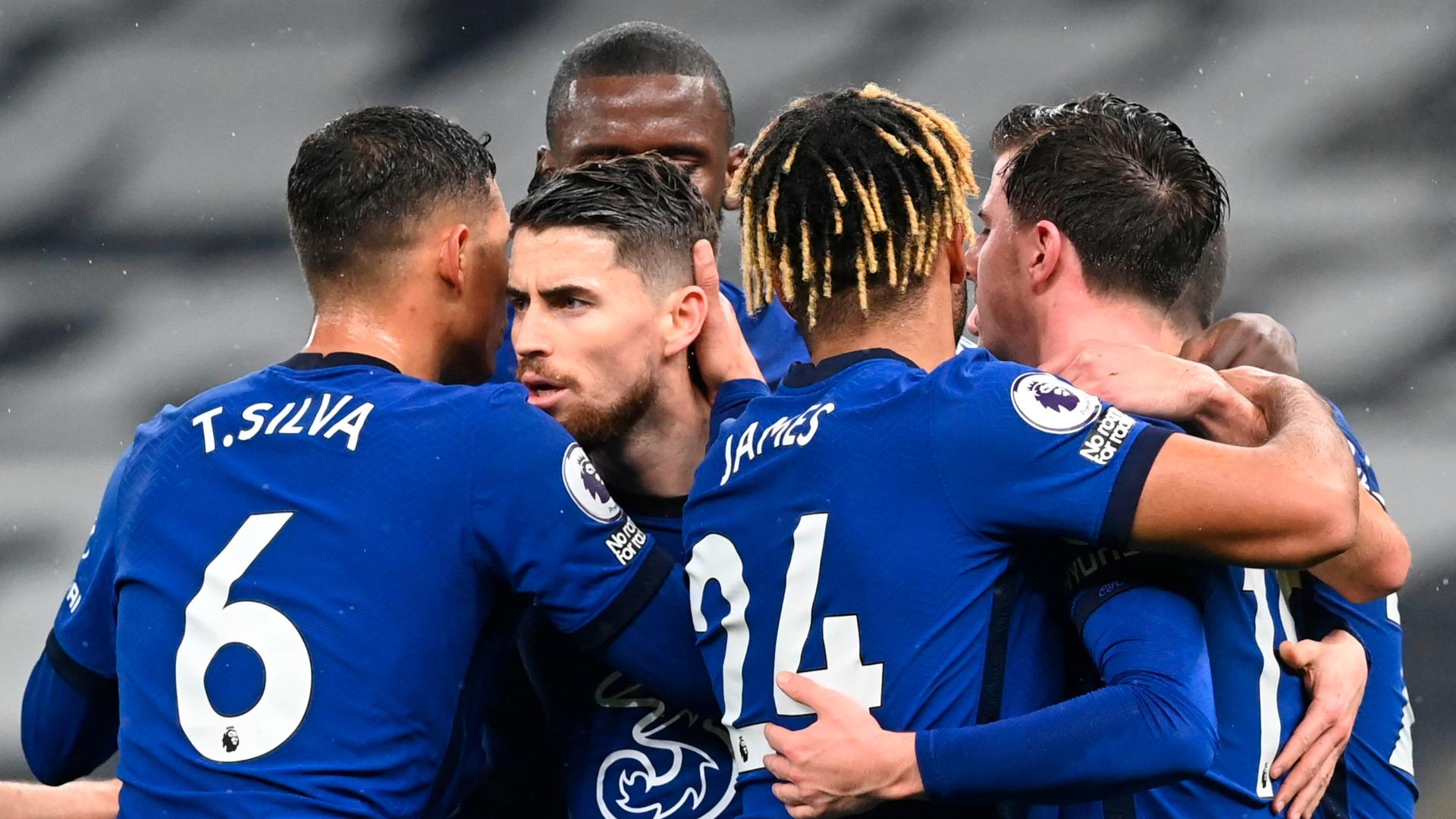 Tottenham 0-1 Chelsea: Jorginho penalty settles one-sided London derby