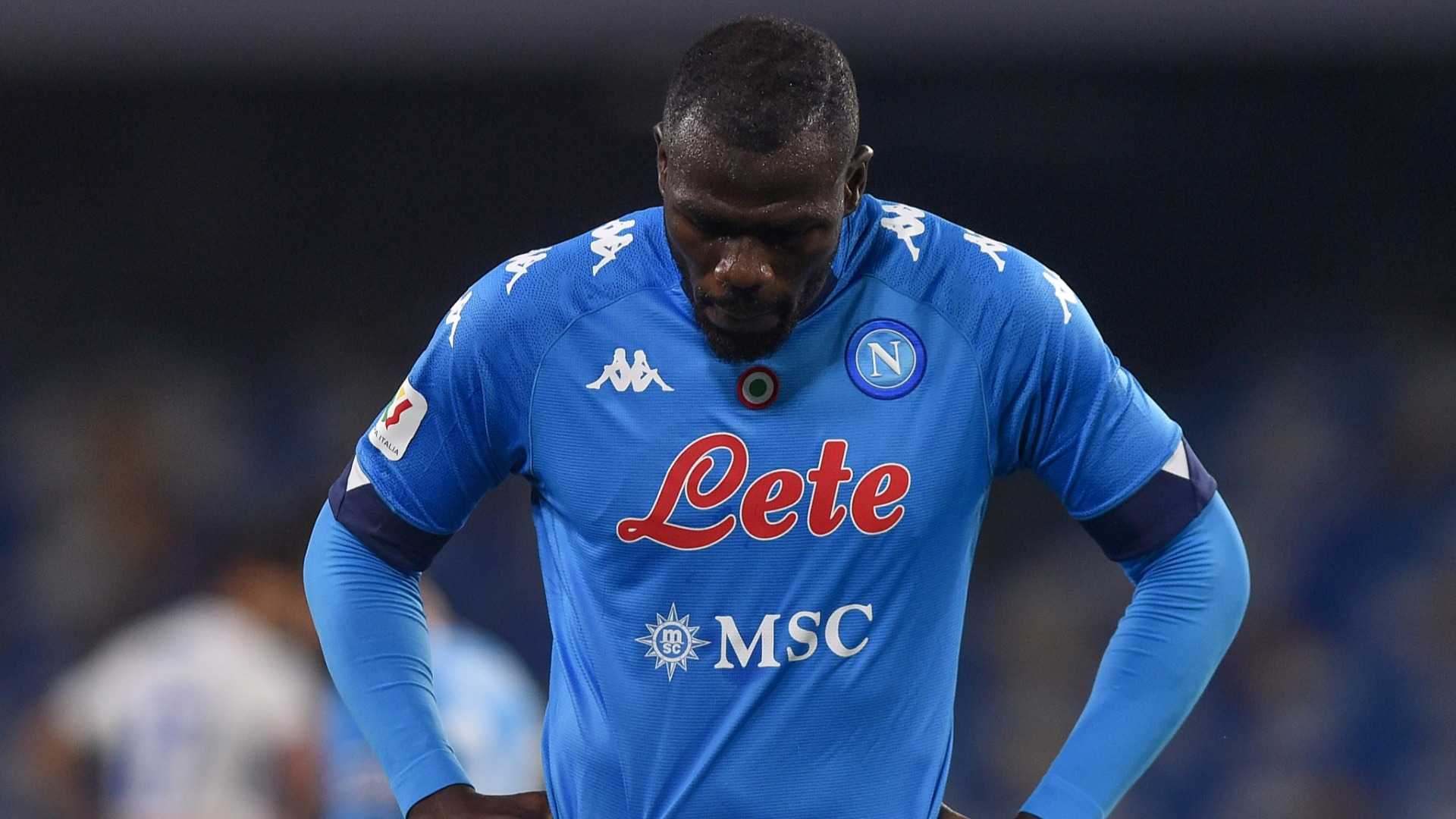 Koulibaly positive for COVID-19 ahead of Coppa semi-final and Juventus clash