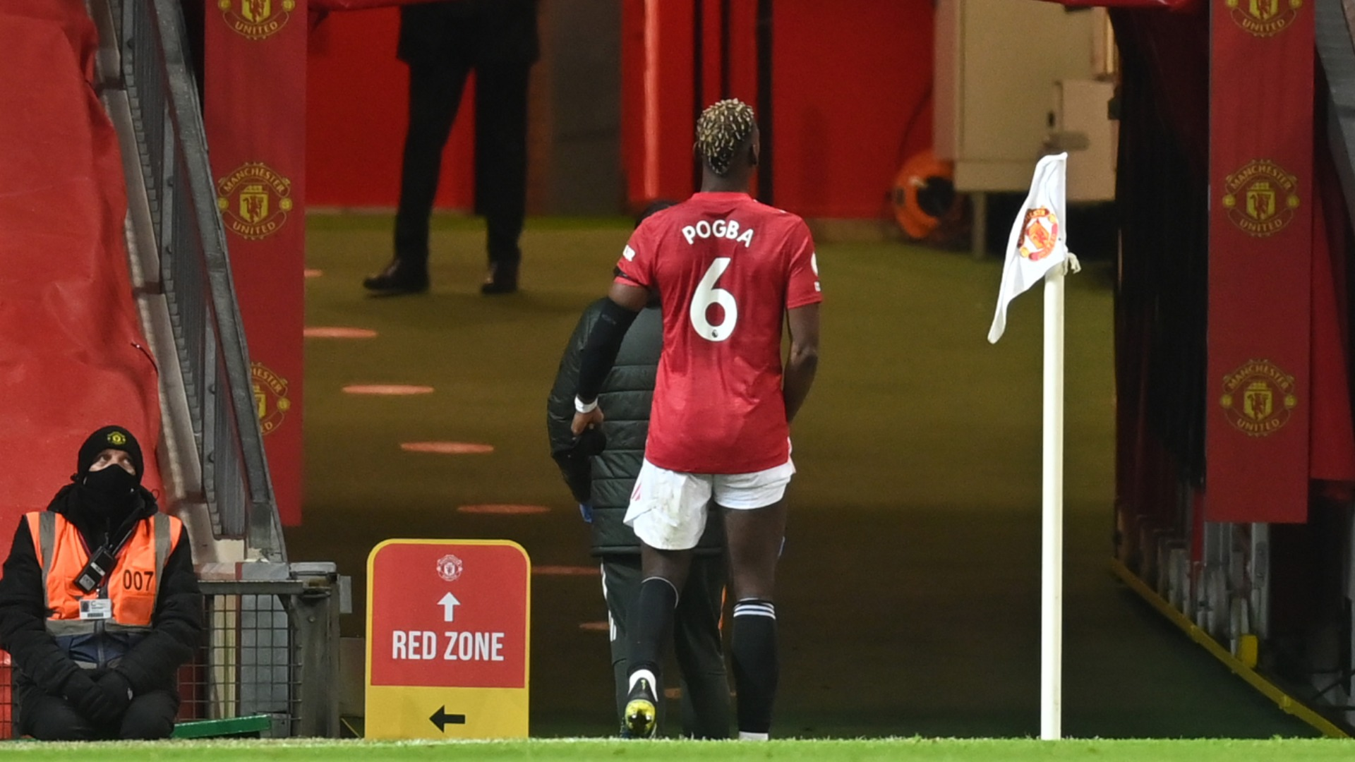 Pogba out for 'a few weeks' with thigh injury ahead of crucial Man Utd stretch