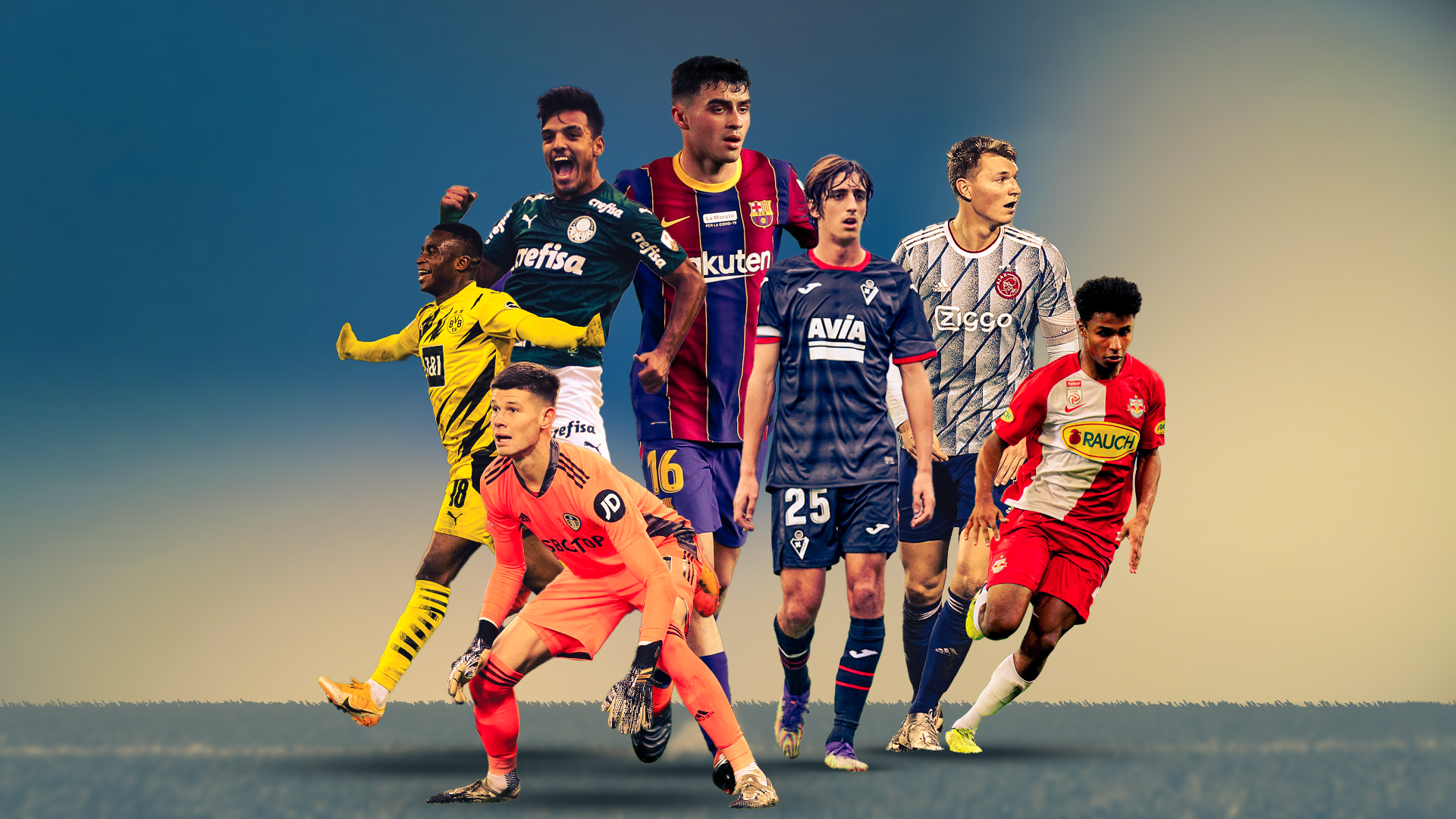 Pedri, Moukoko and Adeyemi among the 21 Under-21 talents to watch in 2021
