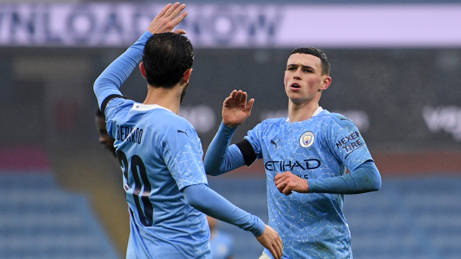 Manchester City 3-0 Birmingham City: Silva at the double as Guardiola's men cruise into fourth round