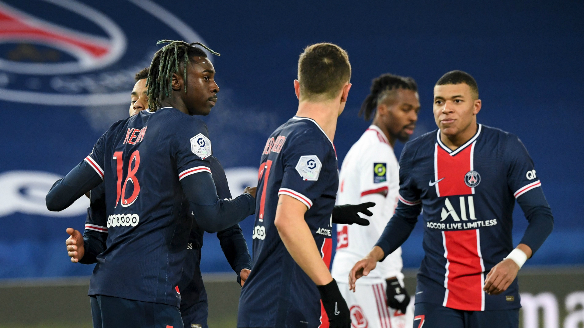 Paris Saint-Germain 3-0 Brest: Pochettino off the mark with first win as champions close gap