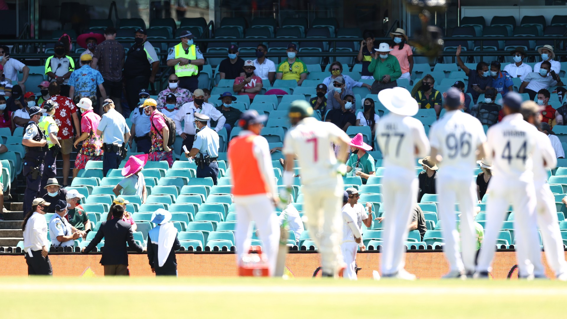 Six people removed from SCG, Cricket Australia issues statement on alleged racist abuse