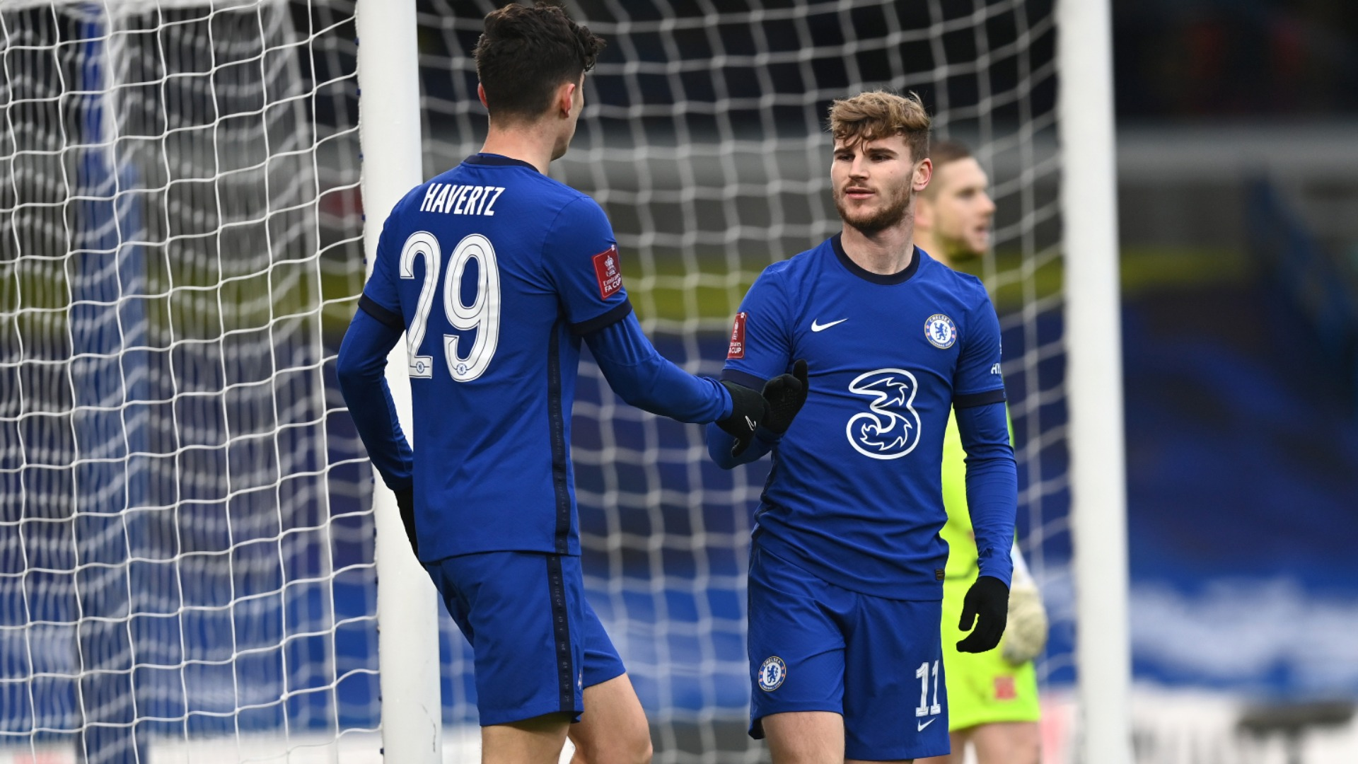 Chelsea 4-0 Morecambe: Werner ends goal drought in routine FA Cup win