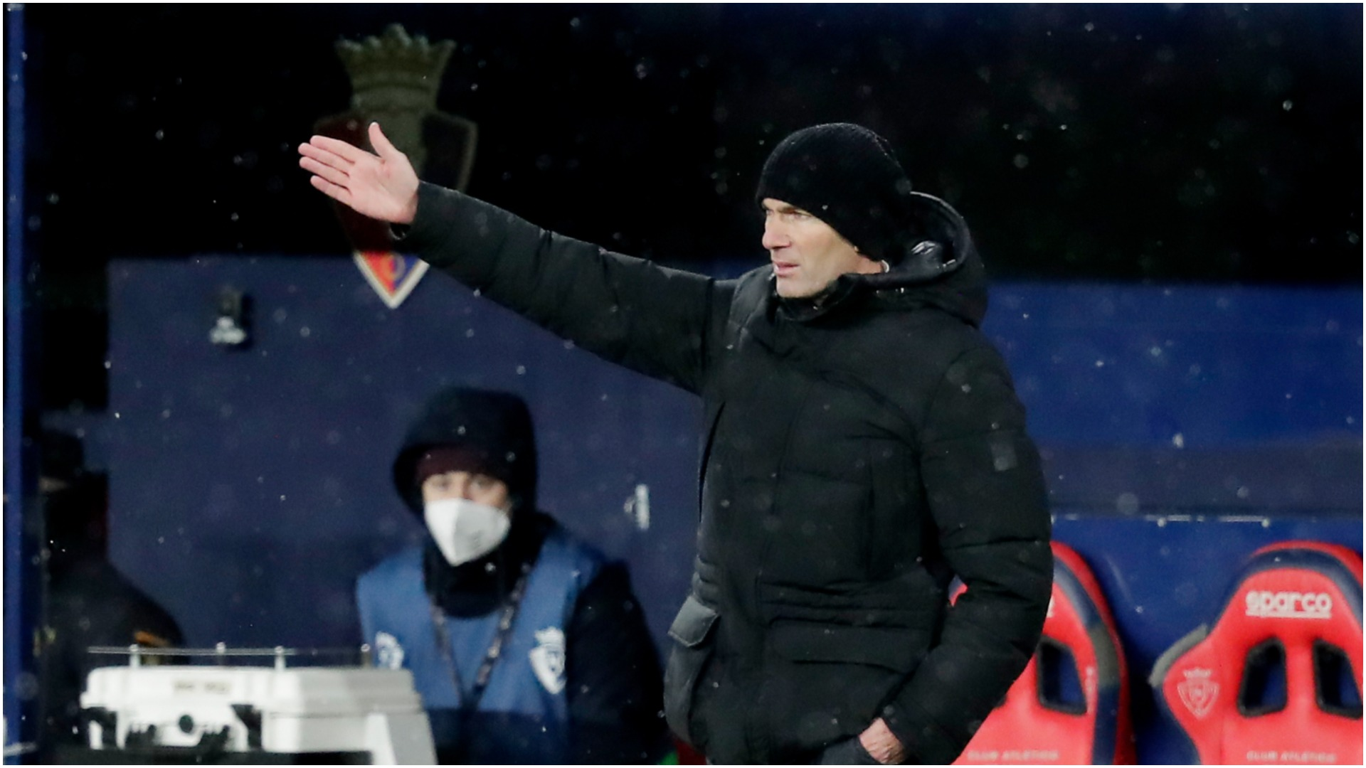 Zidane: Madrid's clash at Osasuna clearly should have been postponed