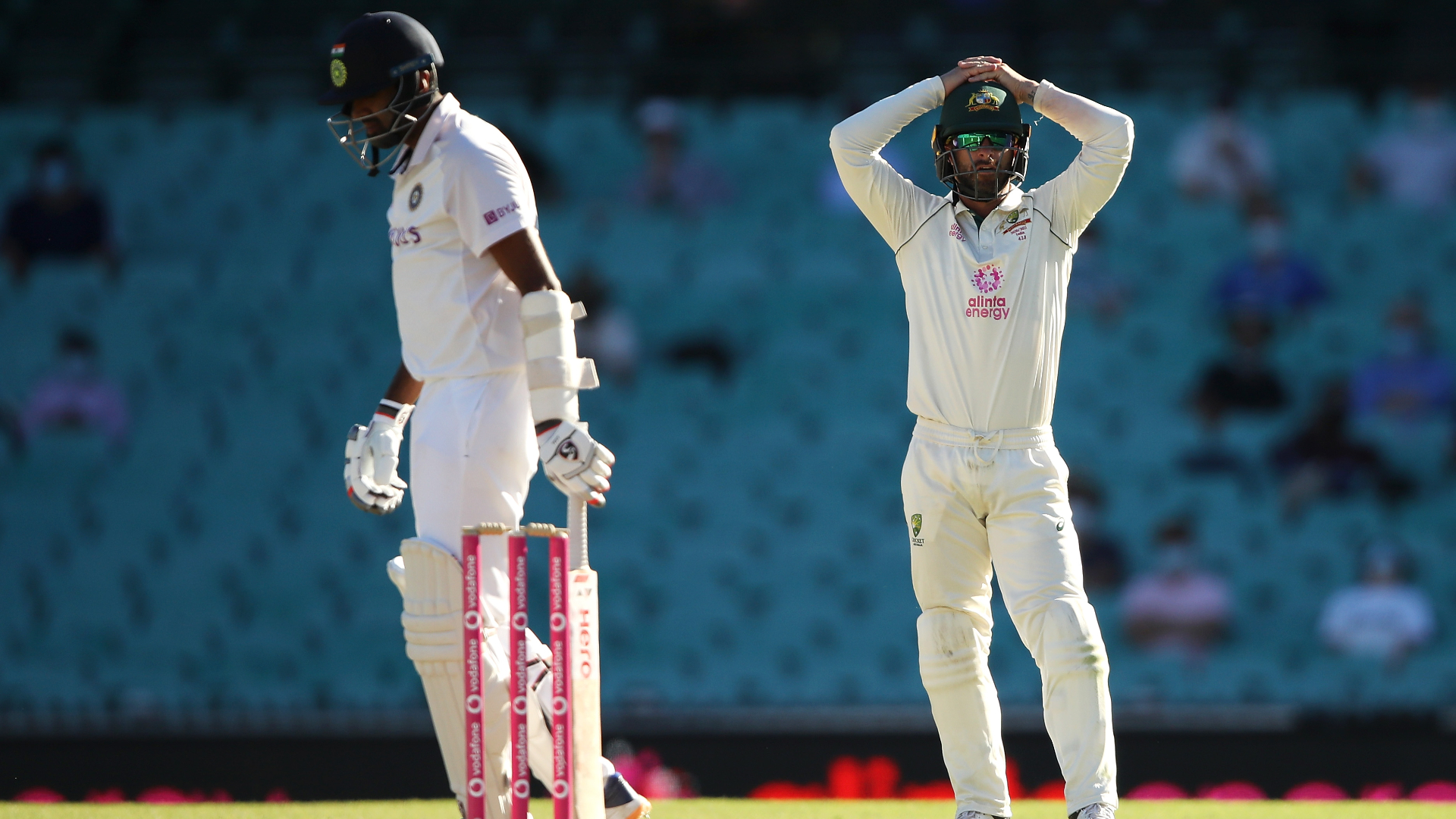 India frustrate Australia to hold on for draw in Sydney