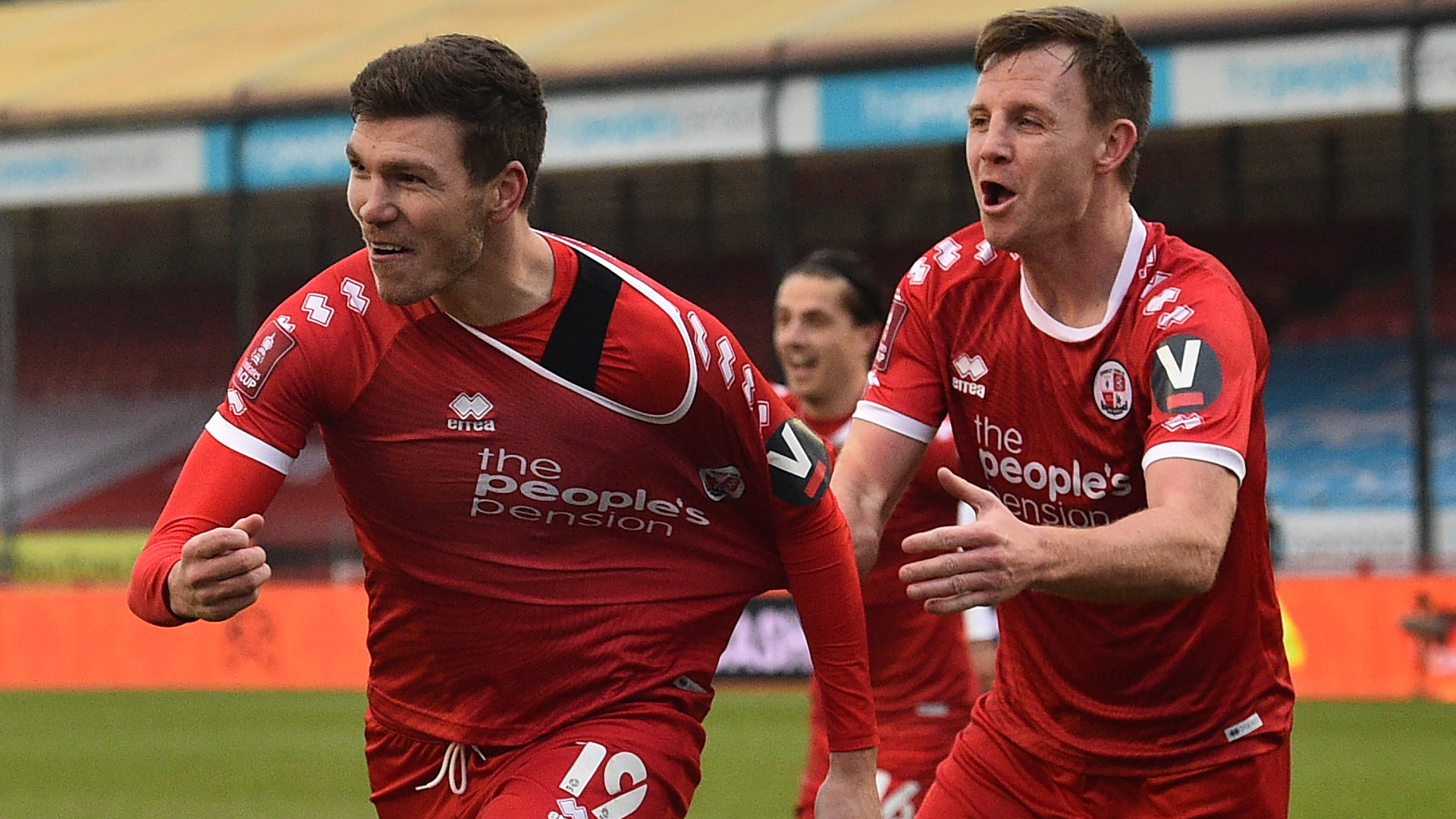 Leeds United shocked by Crawley Town in FA Cup as UK TV star Mark Wright makes debut