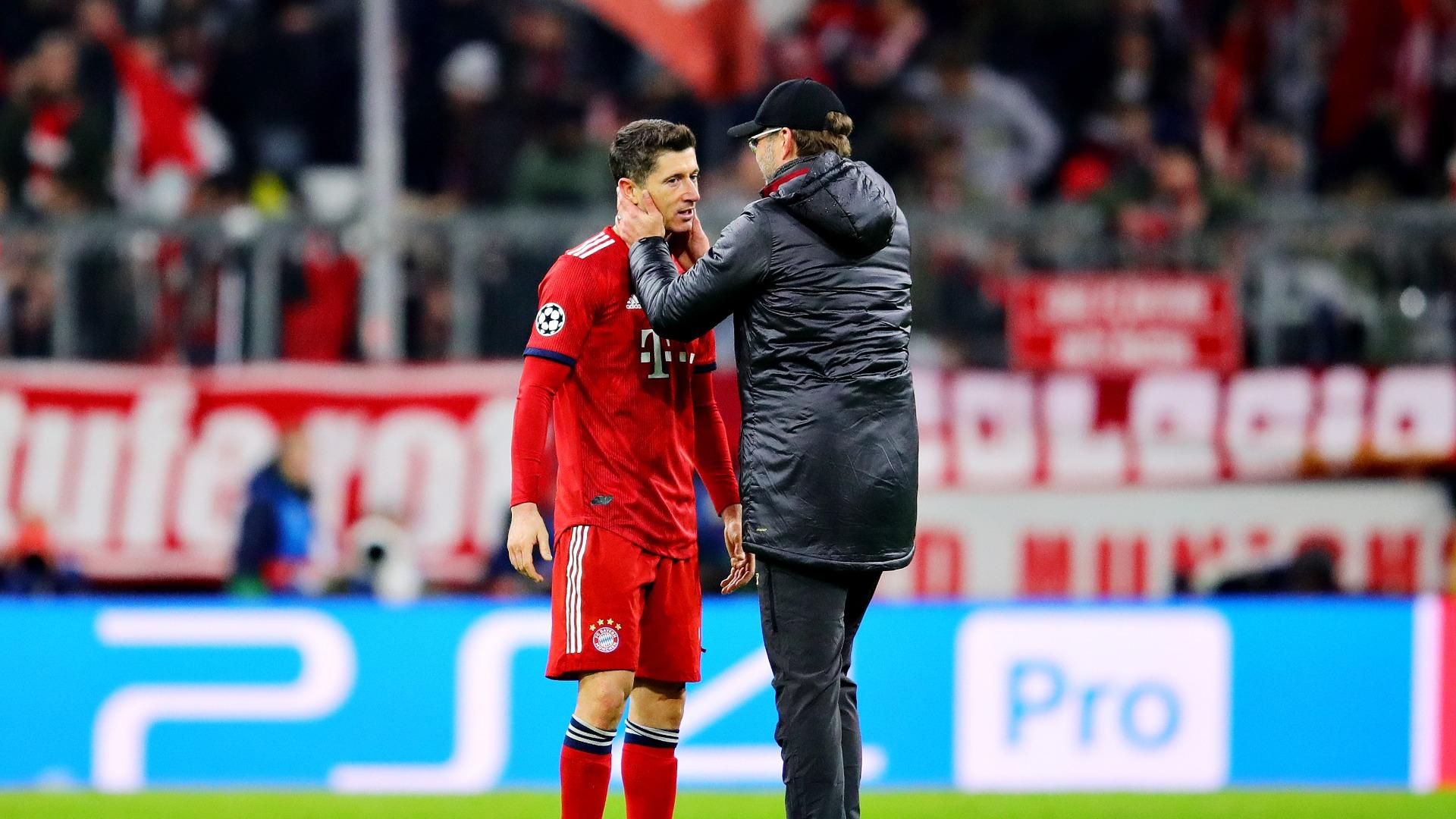 Lewandowski pays tribute to 'genius' Klopp
