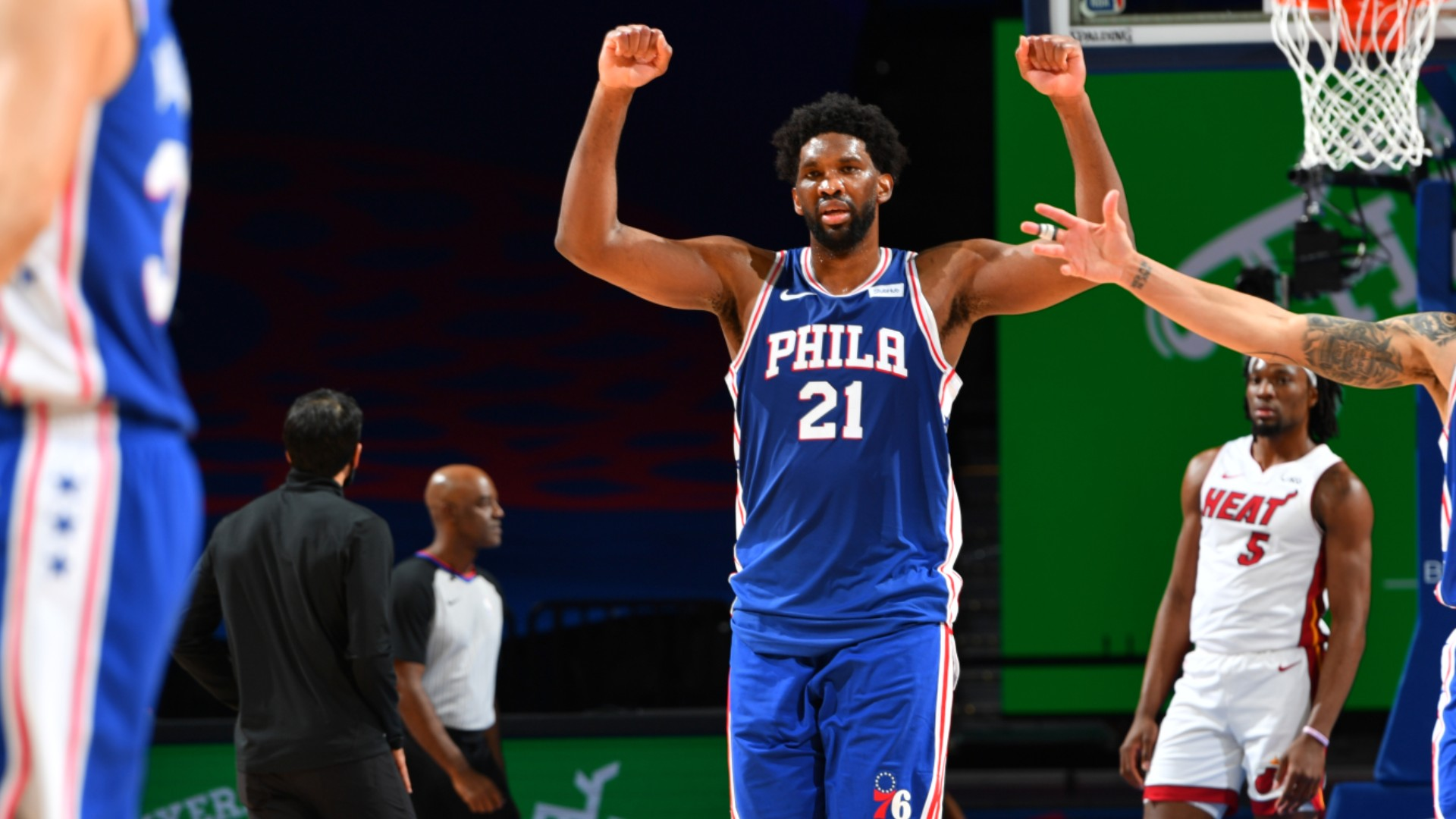 Embiid goes off as 76ers top Heat in OT thriller, LeBron's Lakers roll on