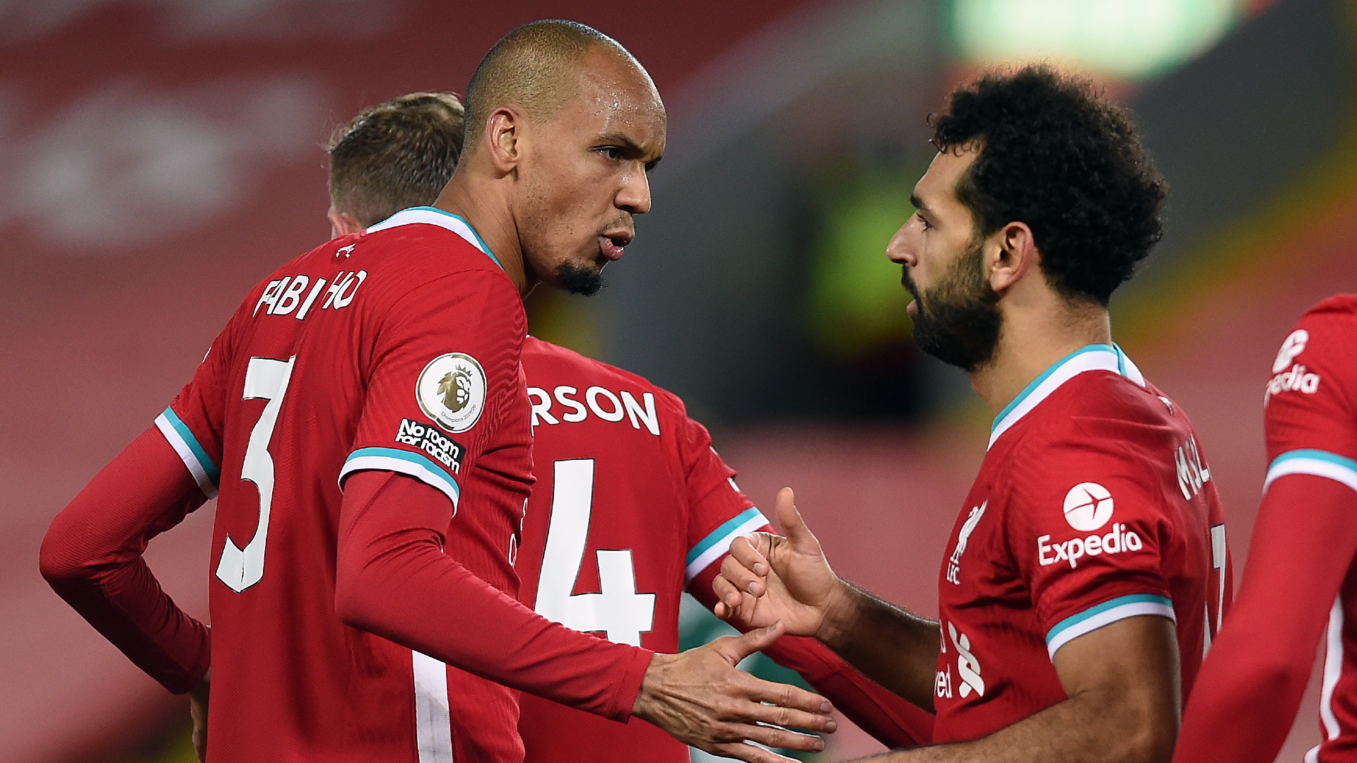 Salah is very happy at Liverpool – Fabinho