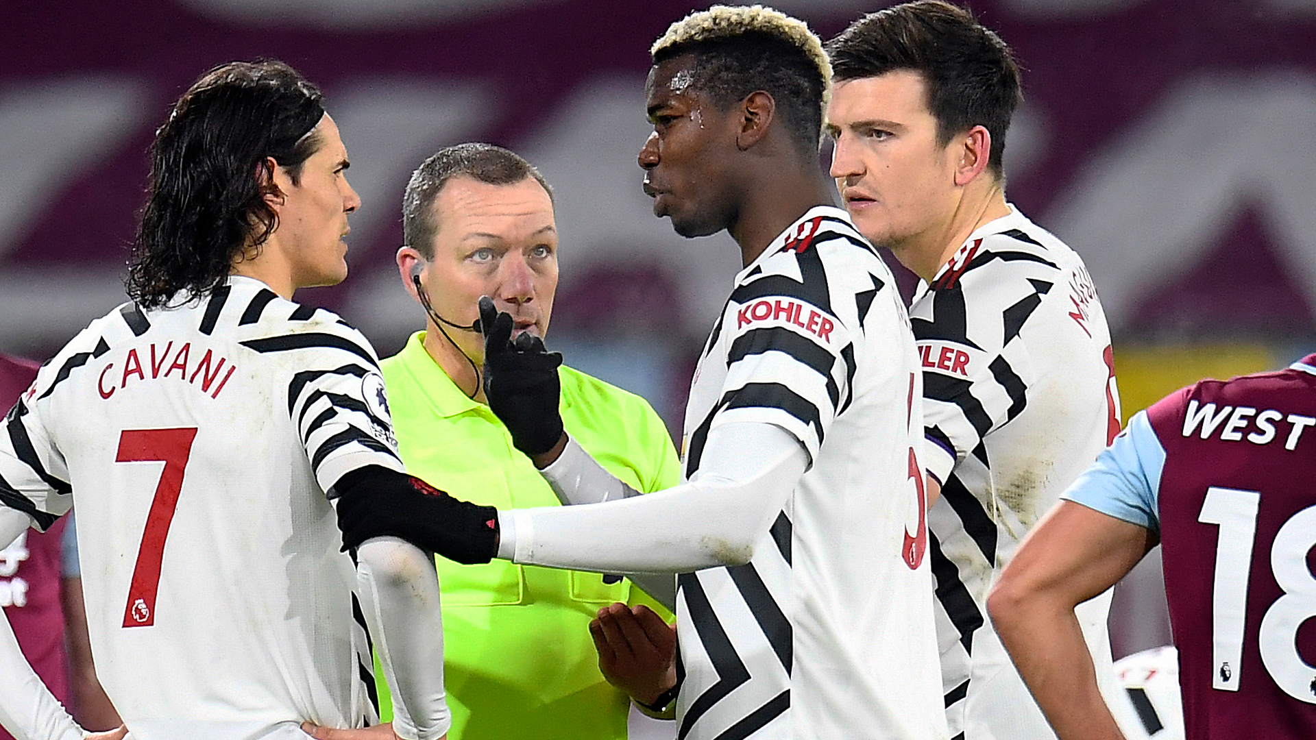 Pogba hails Man Utd cool heads after 'beautiful' Maguire goal ruled out
