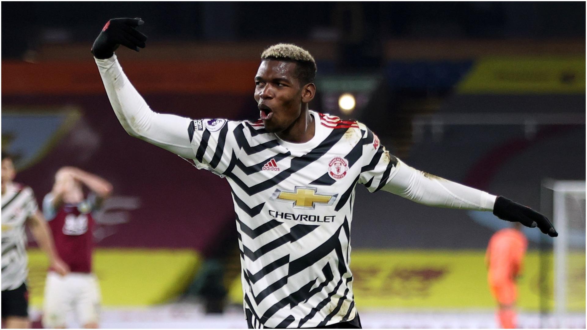 Burnley 0-1 Manchester United: Pogba winner puts Solskjaer's men top of Premier League