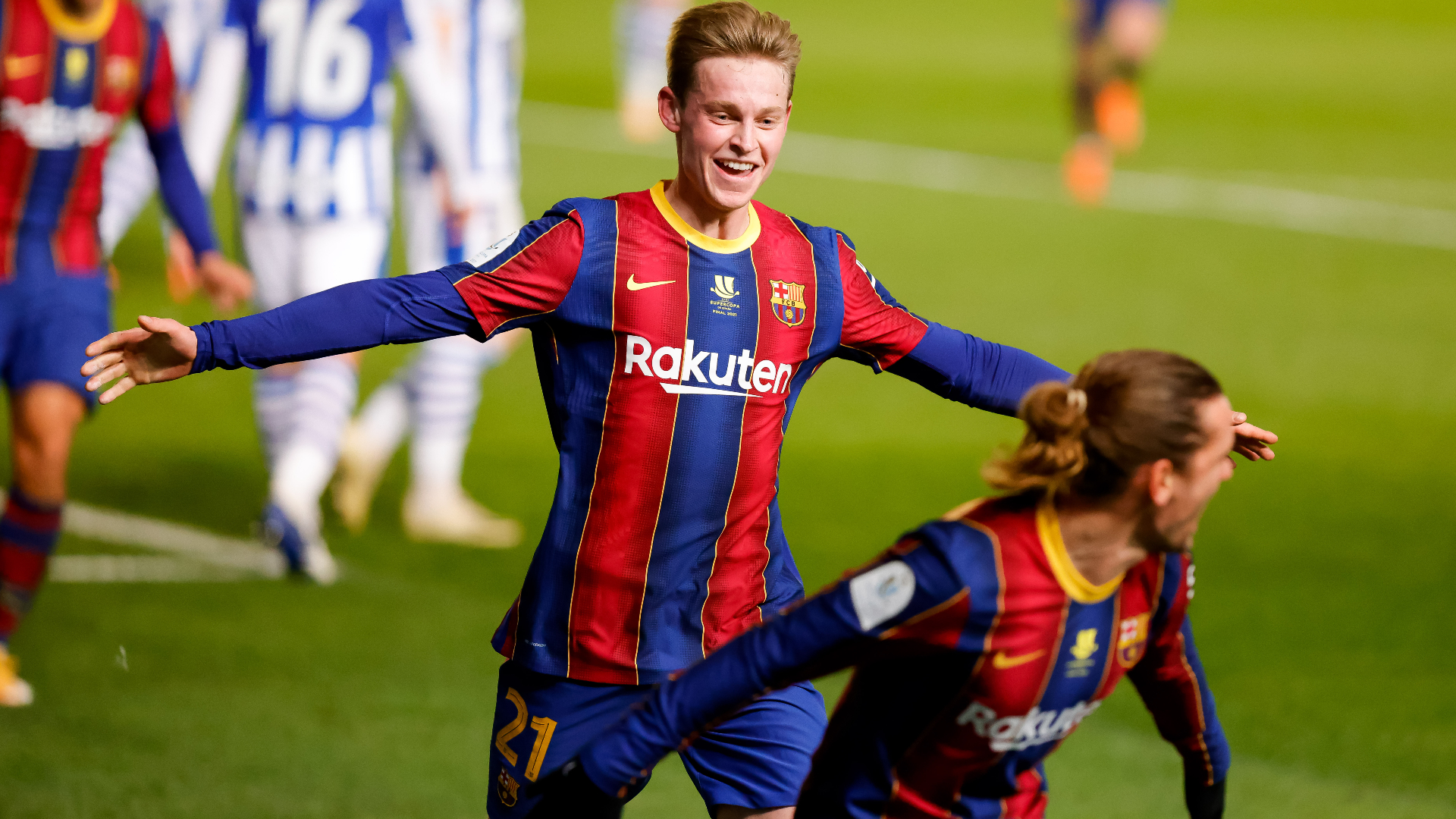 Real Sociedad 1-1 Barcelona (aet, 2-3 pens): Ter Stegen the hero as Catalans reach Supercopa final
