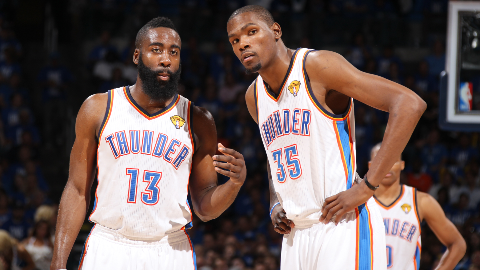 It was fun – Durant discusses playing alongside Harden ahead of expected reunion